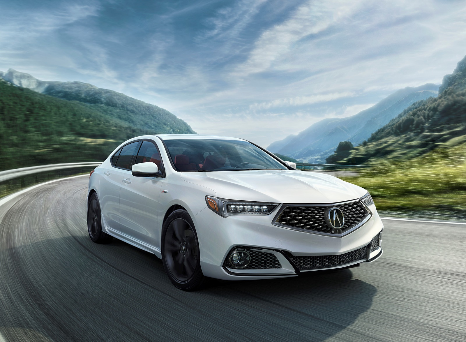 2019 Acura TLX A-Spec SH-AWD Front Three-Quarter Wallpapers (2)