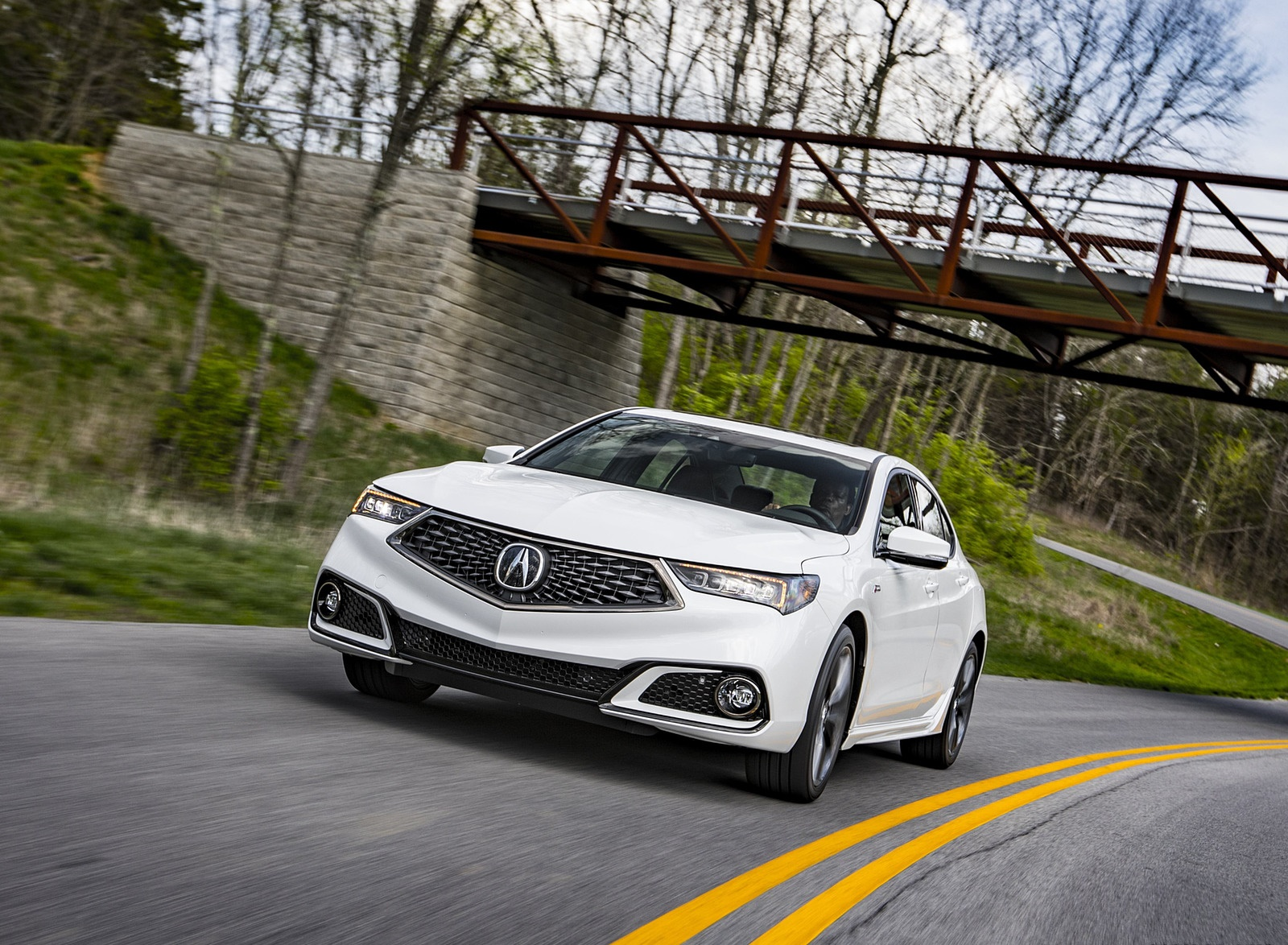 2019 Acura TLX A-Spec SH-AWD Front Wallpapers (6)