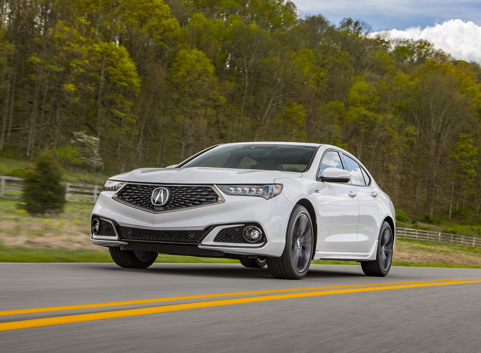 2019 Acura TLX A-Spec SH-AWD Front Wallpapers (5)