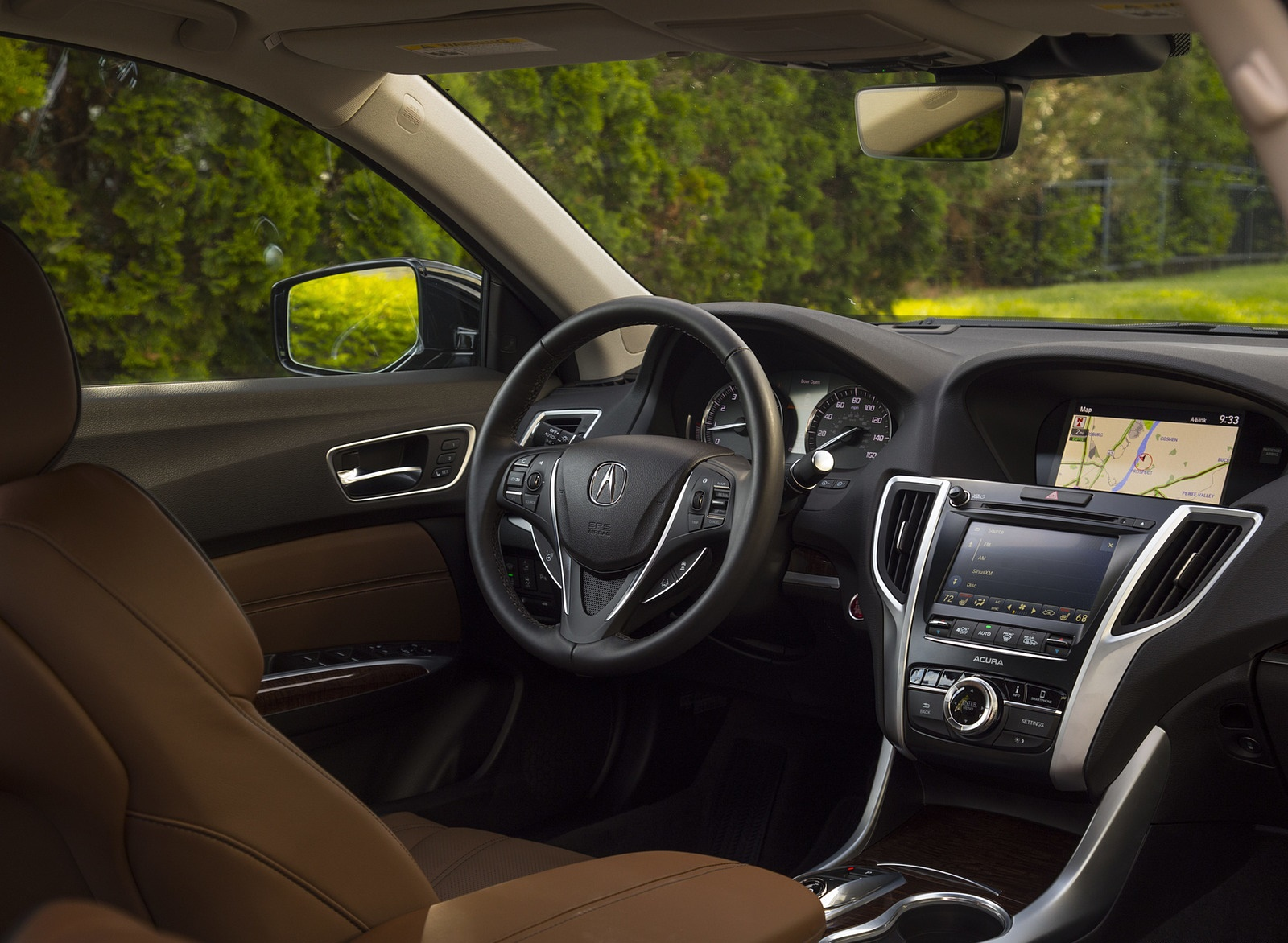 2019 Acura Tlx A Spec Sh Awd Interior Wallpapers 54 Newcarcars