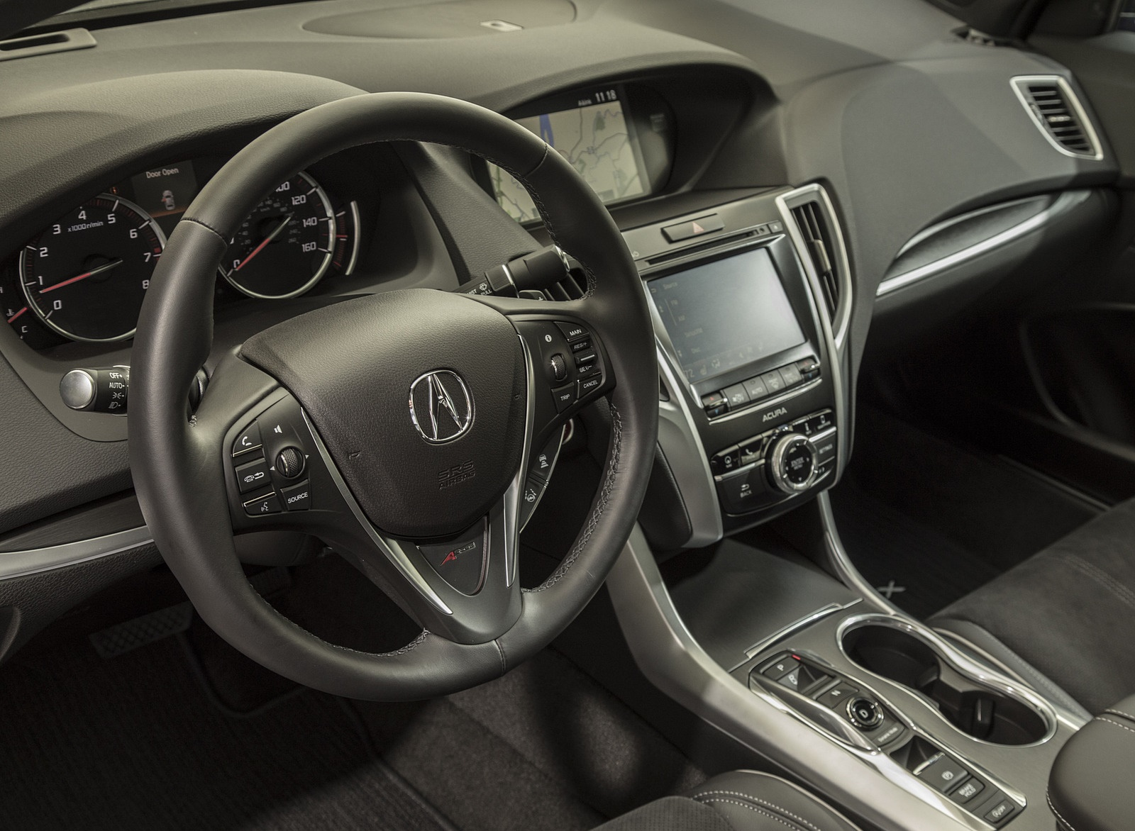 2019 Acura Tlx A Spec Sh Awd Interior Wallpapers 46 Newcarcars
