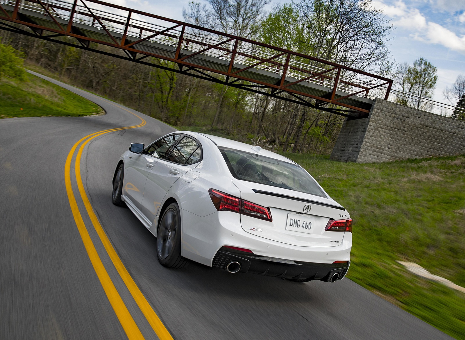 2019 Acura TLX A-Spec SH-AWD Rear Three-Quarter Wallpapers (12)