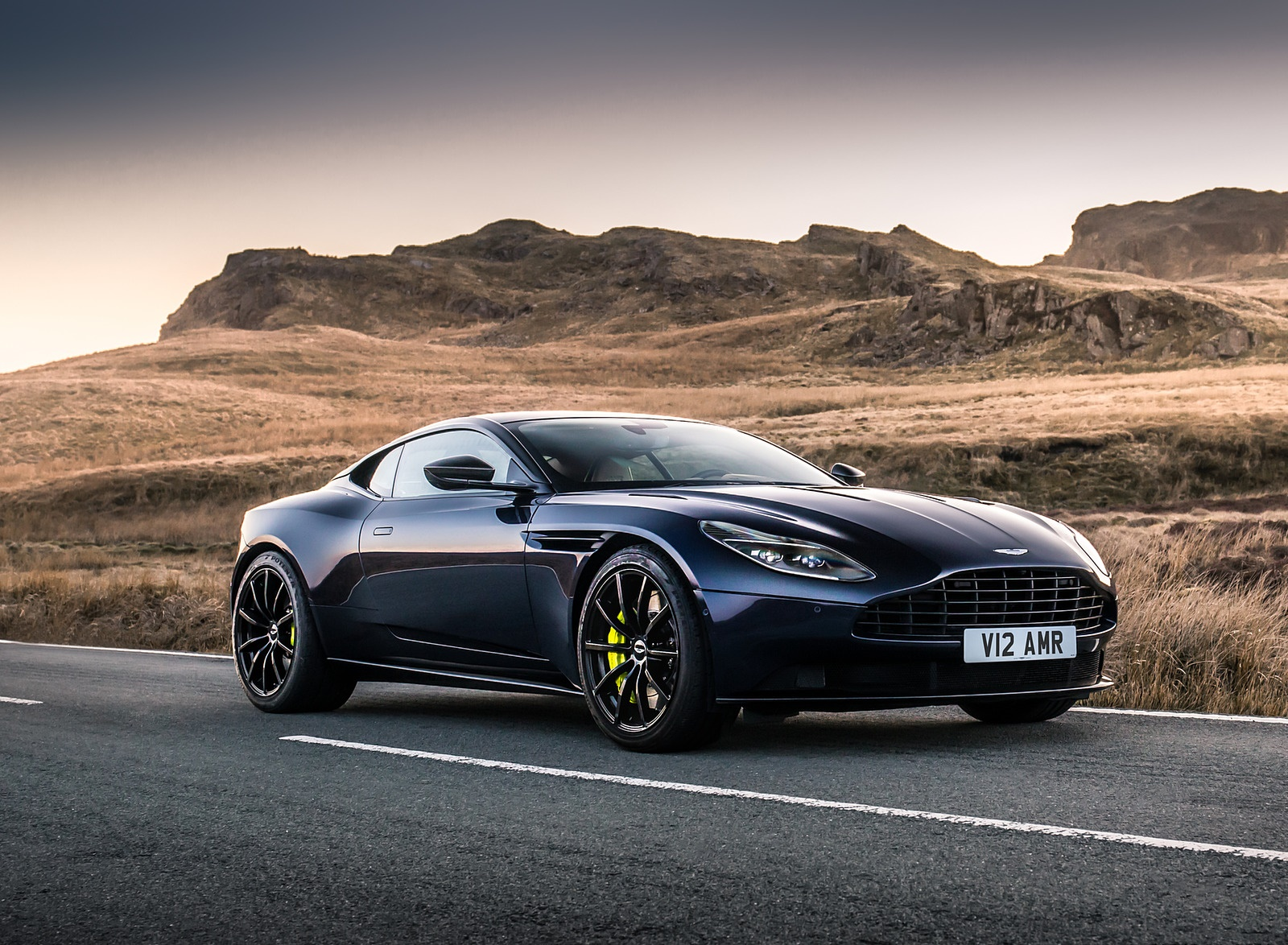 2019 Aston Martin DB11 AMR (Blue Designer Specification) Front Three-Quarter Wallpapers (1)