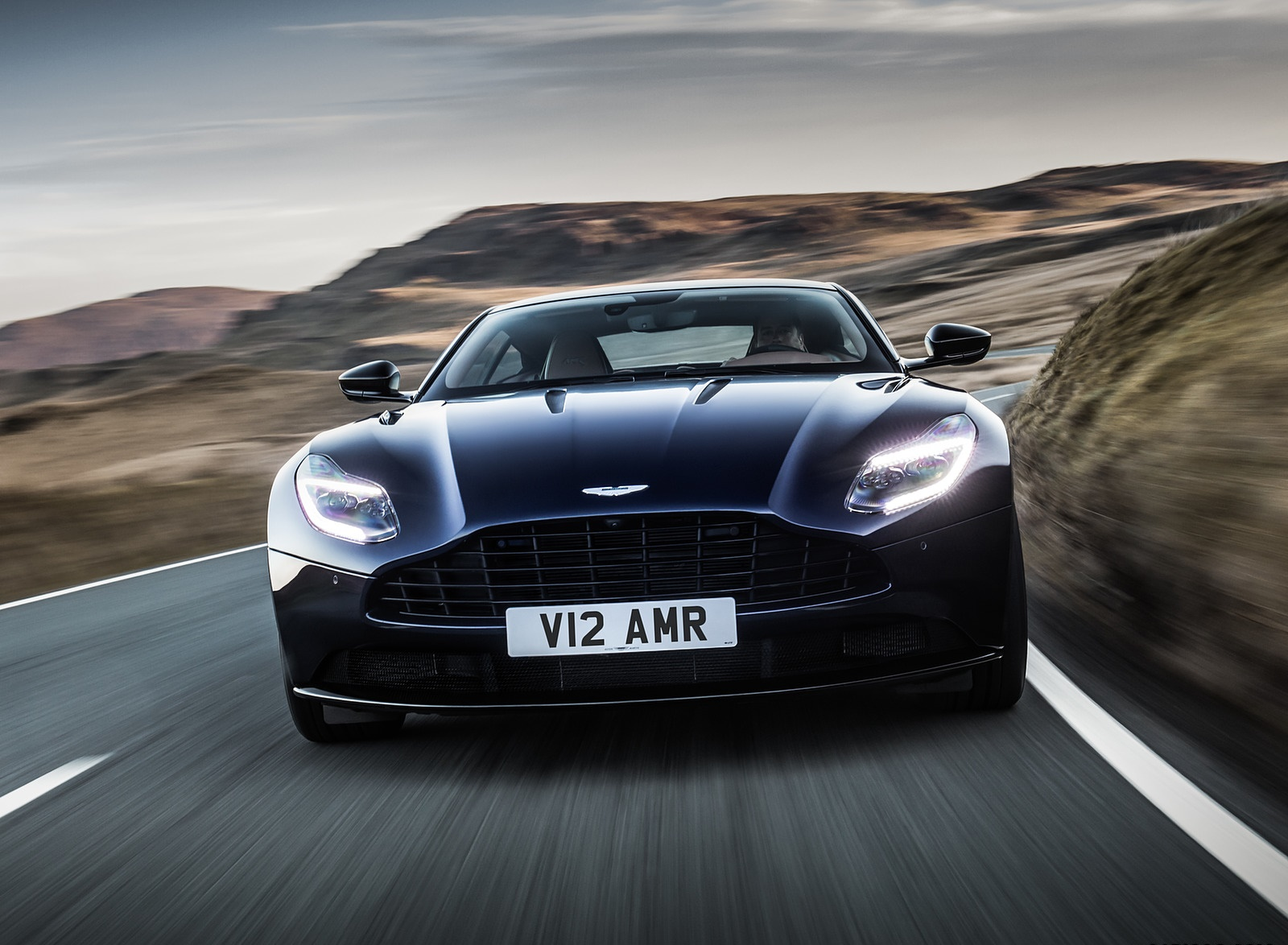 2019 Aston Martin DB11 AMR (Blue Designer Specification) Front Wallpapers (6)