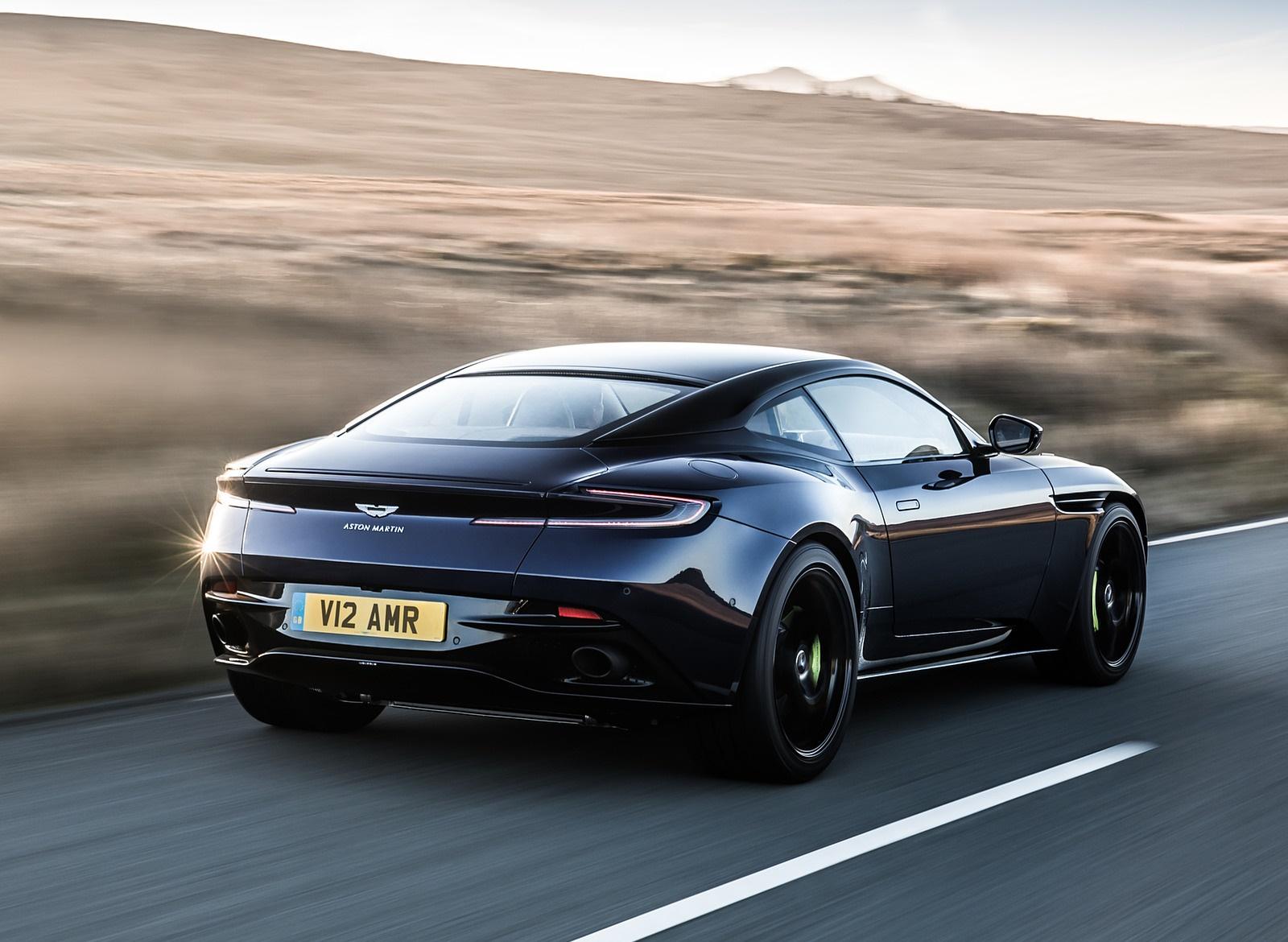 2019 Aston Martin DB11 AMR (Blue Designer Specification) Rear Three-Quarter Wallpapers (5)