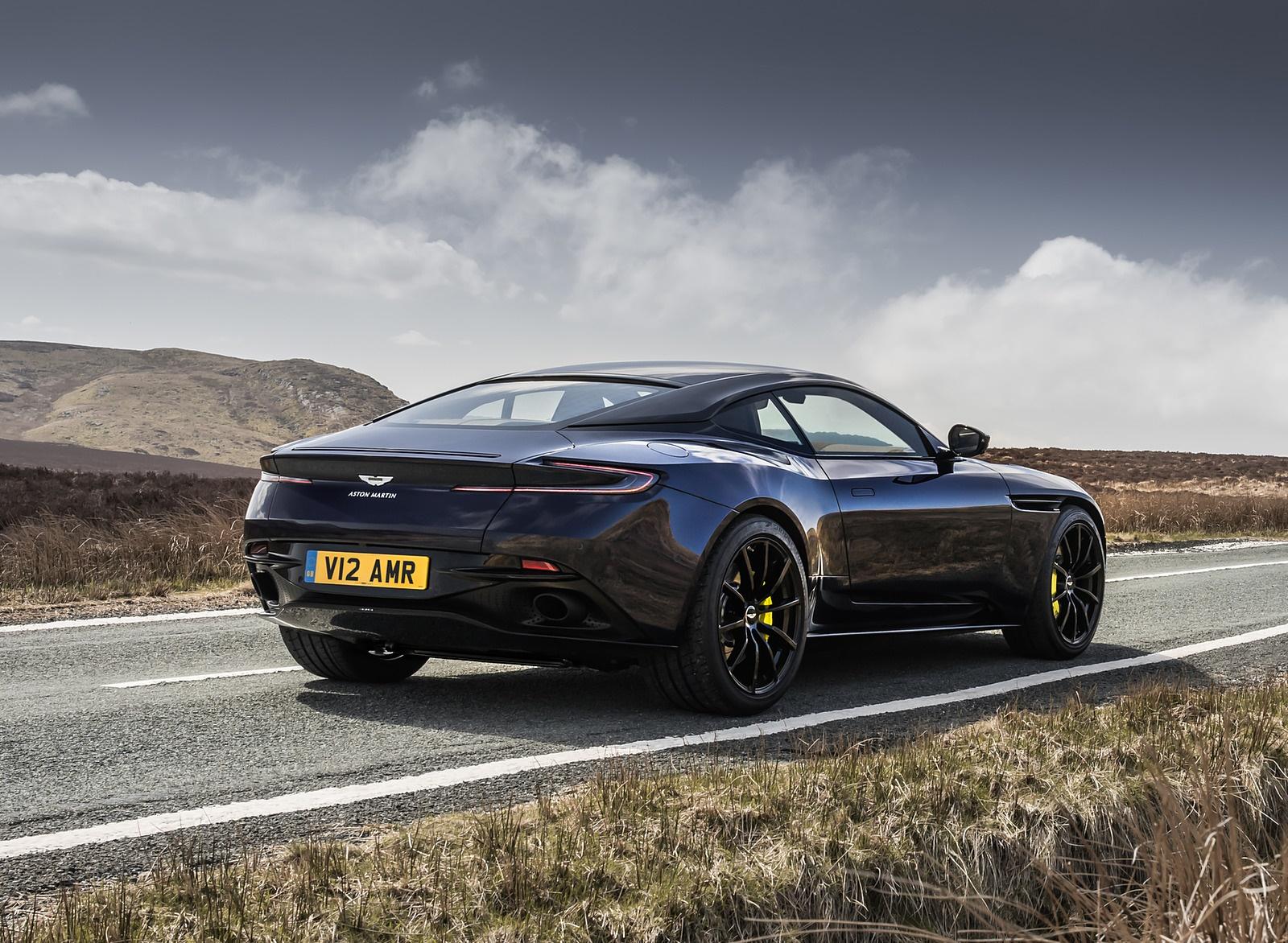 2019 Aston Martin DB11 AMR (Blue Designer Specification) Rear Three-Quarter Wallpapers (4)