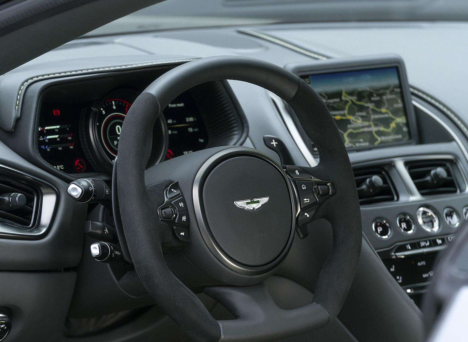 2019 Aston Martin Db11 Amr Color China Grey Interior Wallpapers 45 Newcarcars