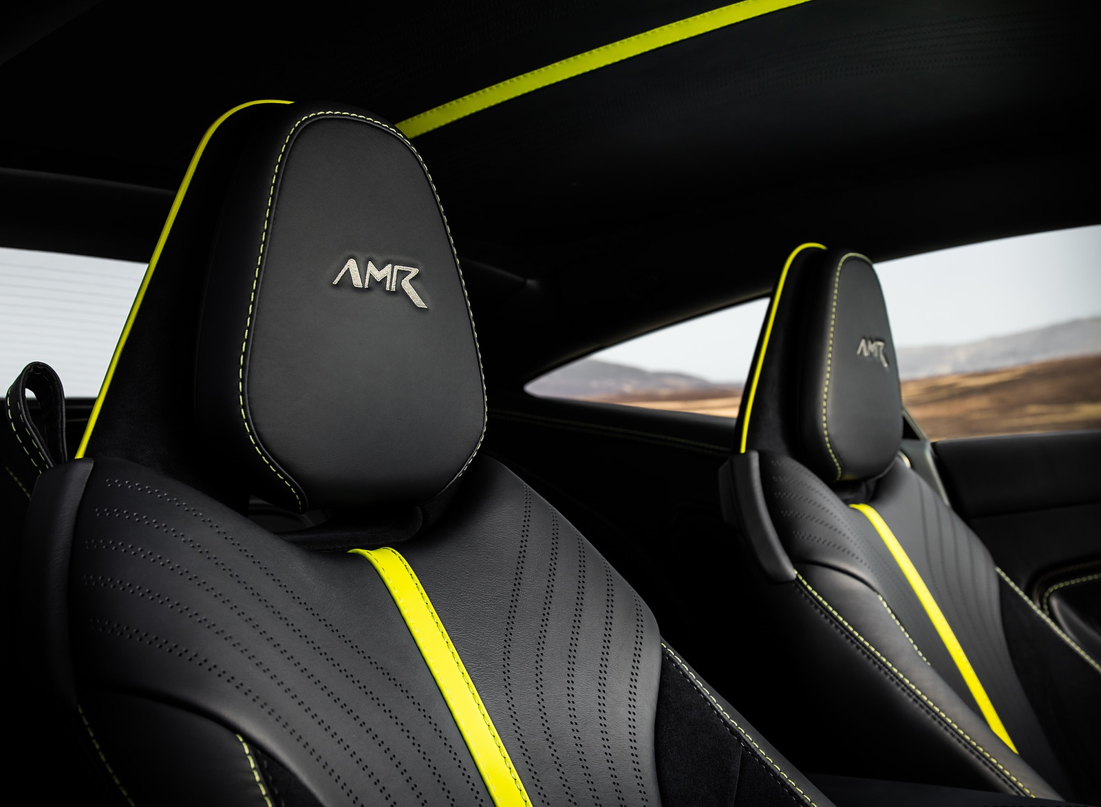 2019 Aston Martin DB11 AMR (Signature Edition) Interior Seats Wallpapers (15)