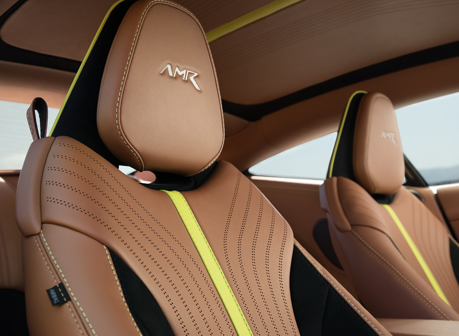 2019 Aston Martin DB11 AMR (Signature Edition) Interior Seats Wallpapers (14)