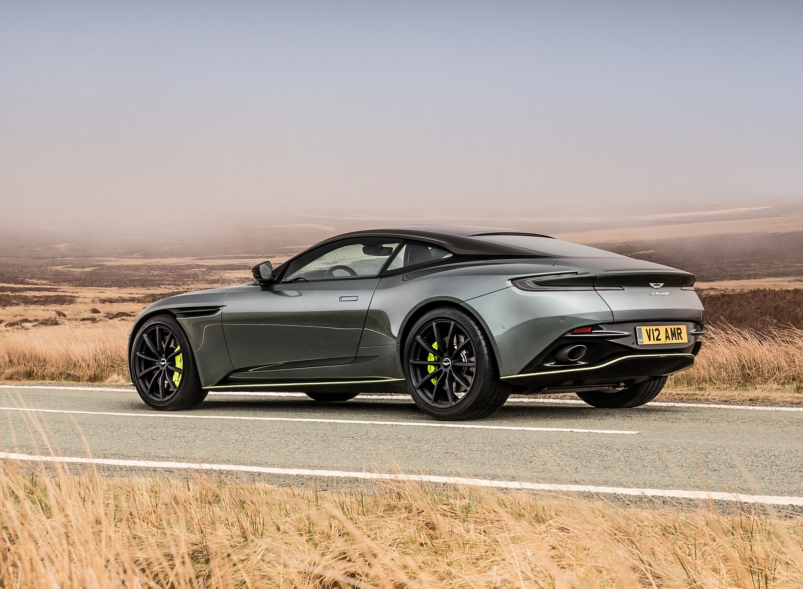 2019 Aston Martin DB11 AMR (Signature Edition) Rear Three-Quarter Wallpapers (12)