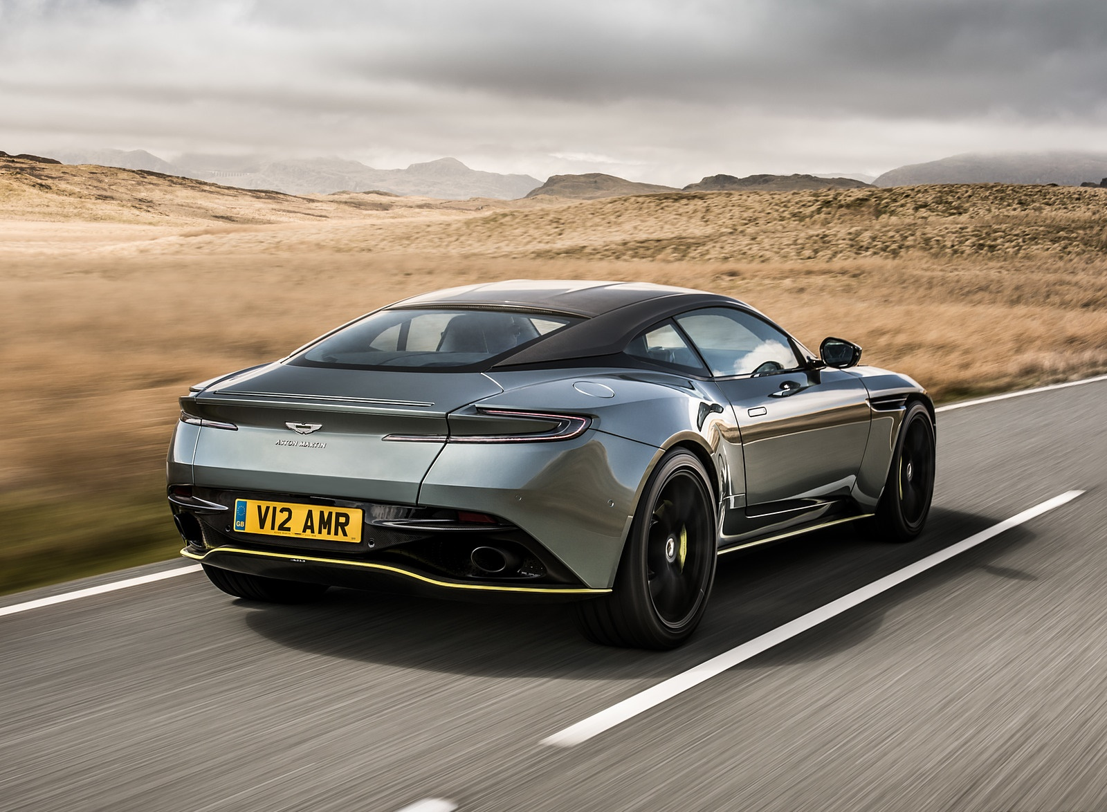 2019 Aston Martin DB11 AMR (Signature Edition) Rear Three-Quarter Wallpapers (11)