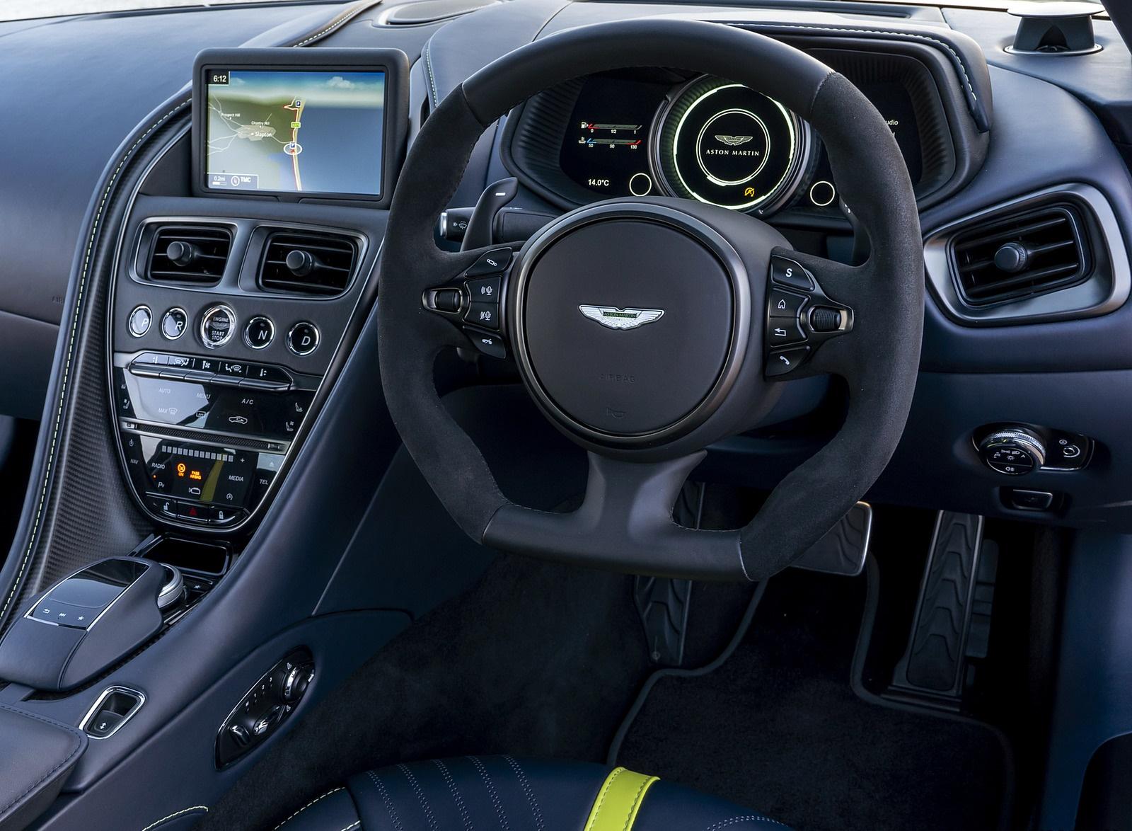 2019 Aston Martin Db11 Amr Uk Spec Interior Detail Wallpapers 73 Newcarcars