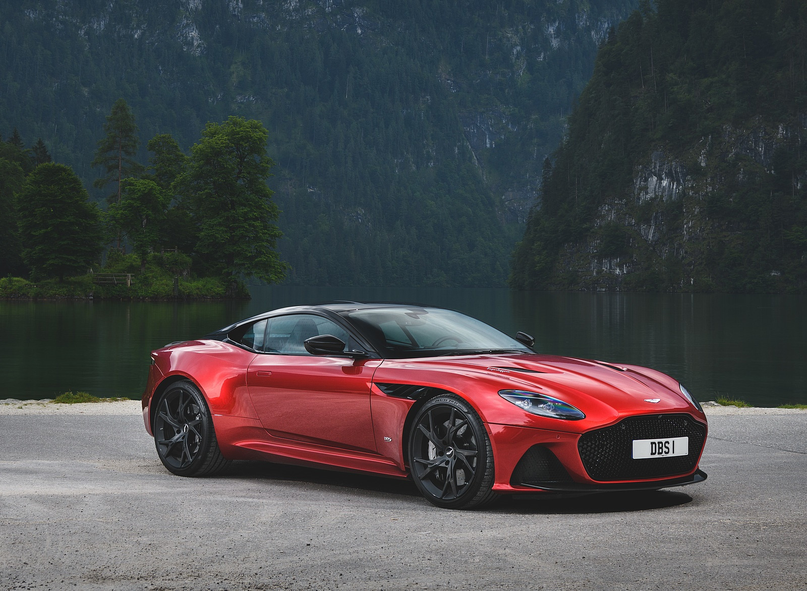 2019 Aston Martin Dbs Superleggera Color Hyper Red Front Three Quarter Wallpapers 33 Newcarcars