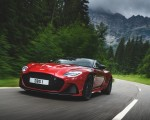 2019 Aston Martin DBS Superleggera (Color: Hyper Red) Front Wallpapers 150x120 (18)