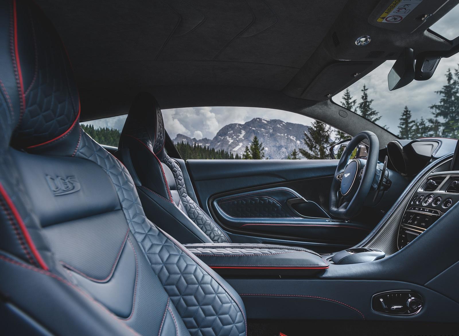 2019 Aston Martin Dbs Superleggera Color Hyper Red Interior Seats Wallpapers 50 Newcarcars