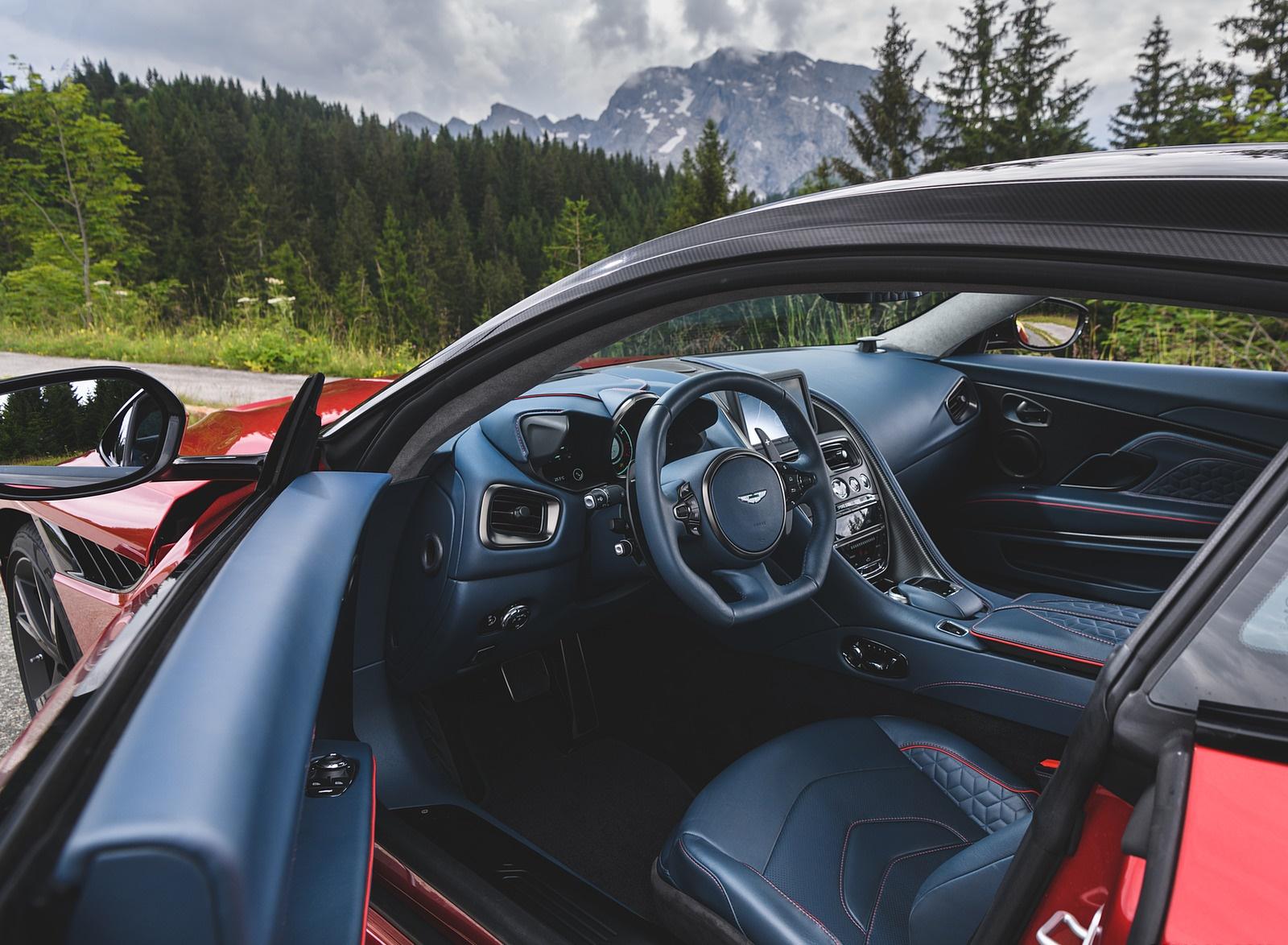 2019 Aston Martin Dbs Superleggera Color Hyper Red Interior Wallpapers 49 Newcarcars