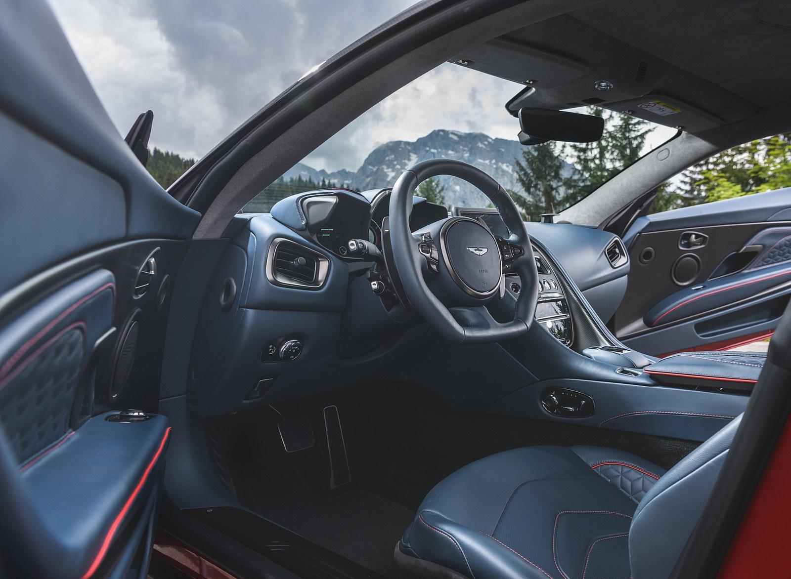 2019 Aston Martin Dbs Superleggera Color Hyper Red Interior Wallpapers 47 Newcarcars
