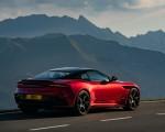 2019 Aston Martin DBS Superleggera (Color: Hyper Red) Rear Three-Quarter Wallpapers 150x120 (40)
