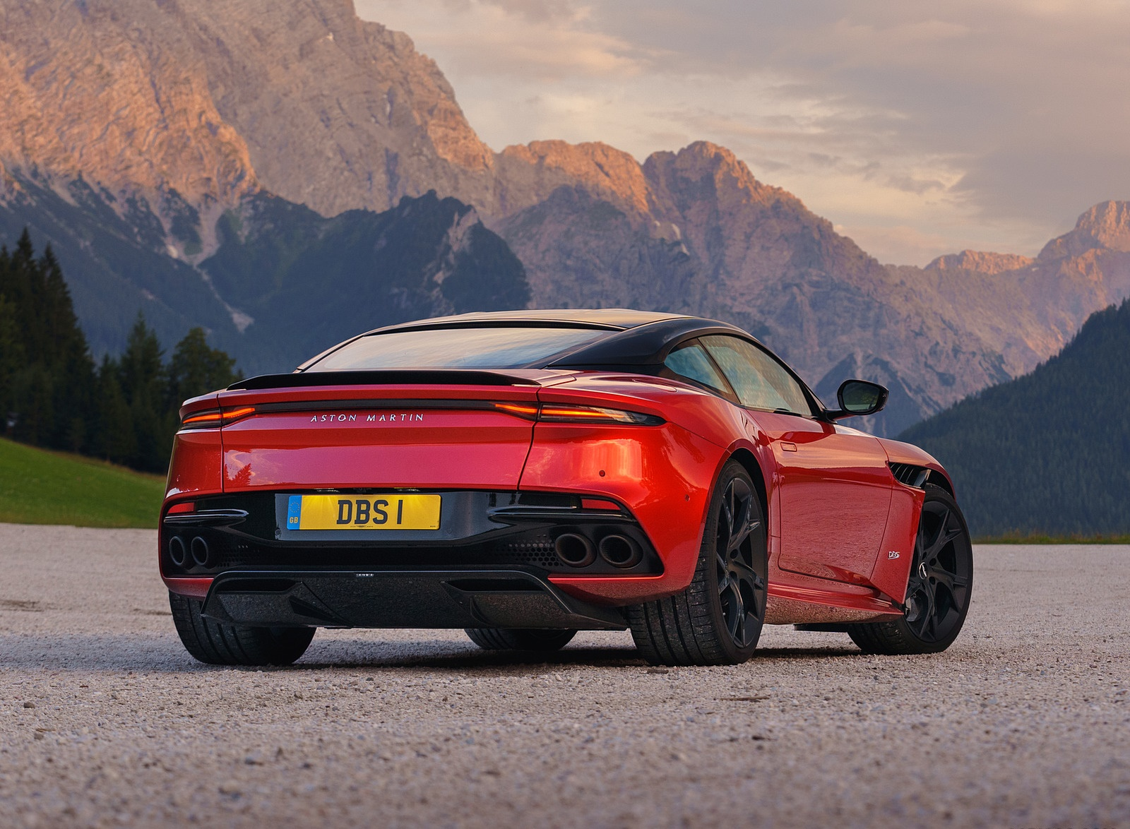 2019 Aston Martin Dbs Superleggera Color Hyper Red Rear Wallpapers 39 Newcarcars