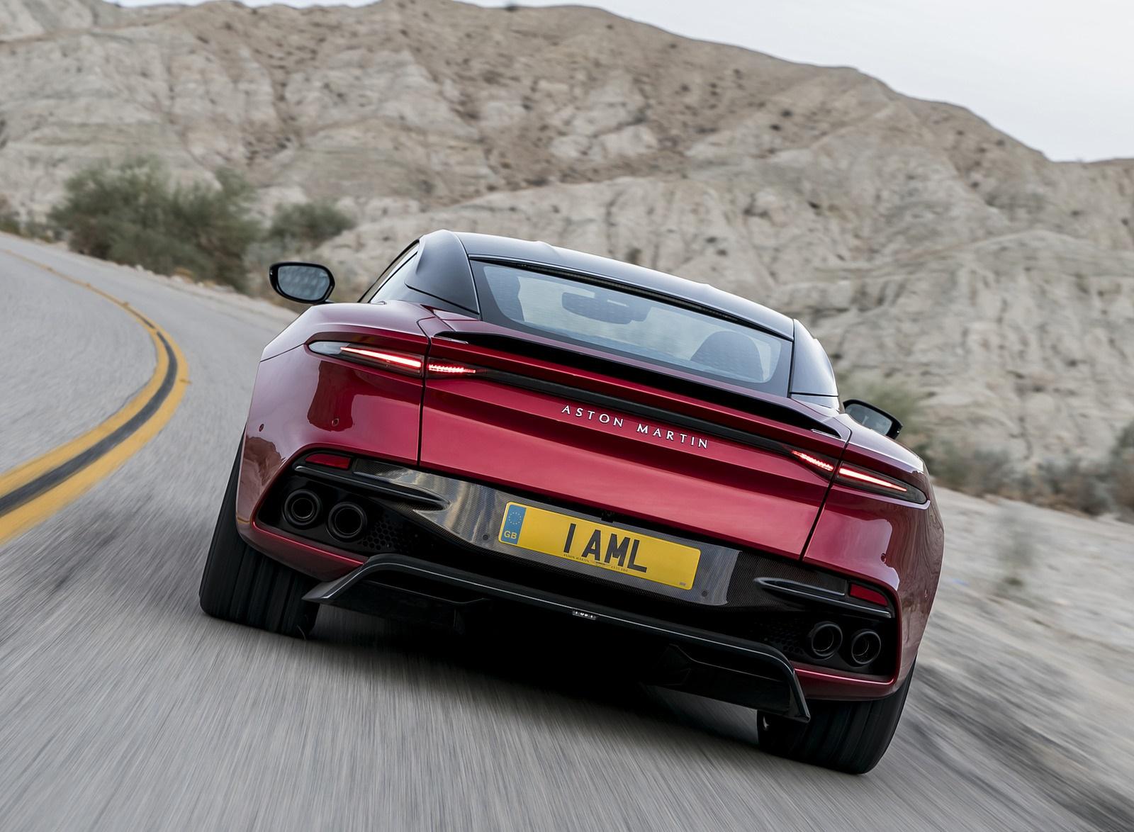 2019 Aston Martin DBS Superleggera Rear Wallpapers (5)