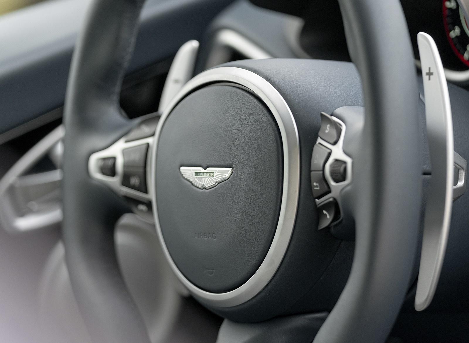 2019 Aston Martin Dbs Superleggera Color White Stone Interior Steering Wheel Wallpapers 108 Newcarcars