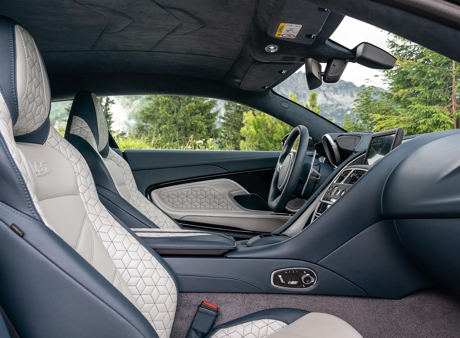 2019 Aston Martin Dbs Superleggera Color White Stone Interior Wallpapers 112 Newcarcars