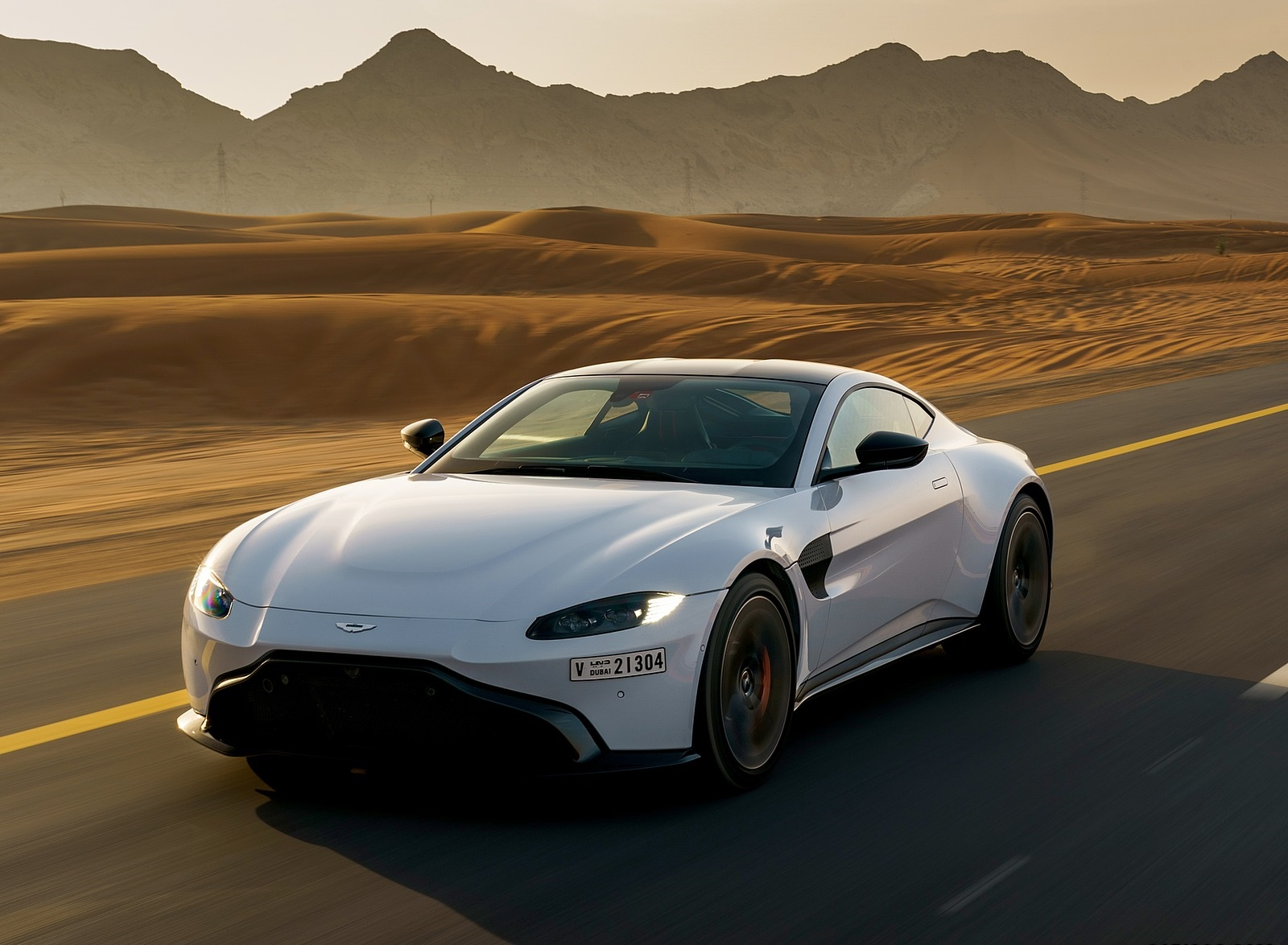 2019 Aston Martin Vantage Color White Stone Front Three Quarter Wallpapers 76 Newcarcars
