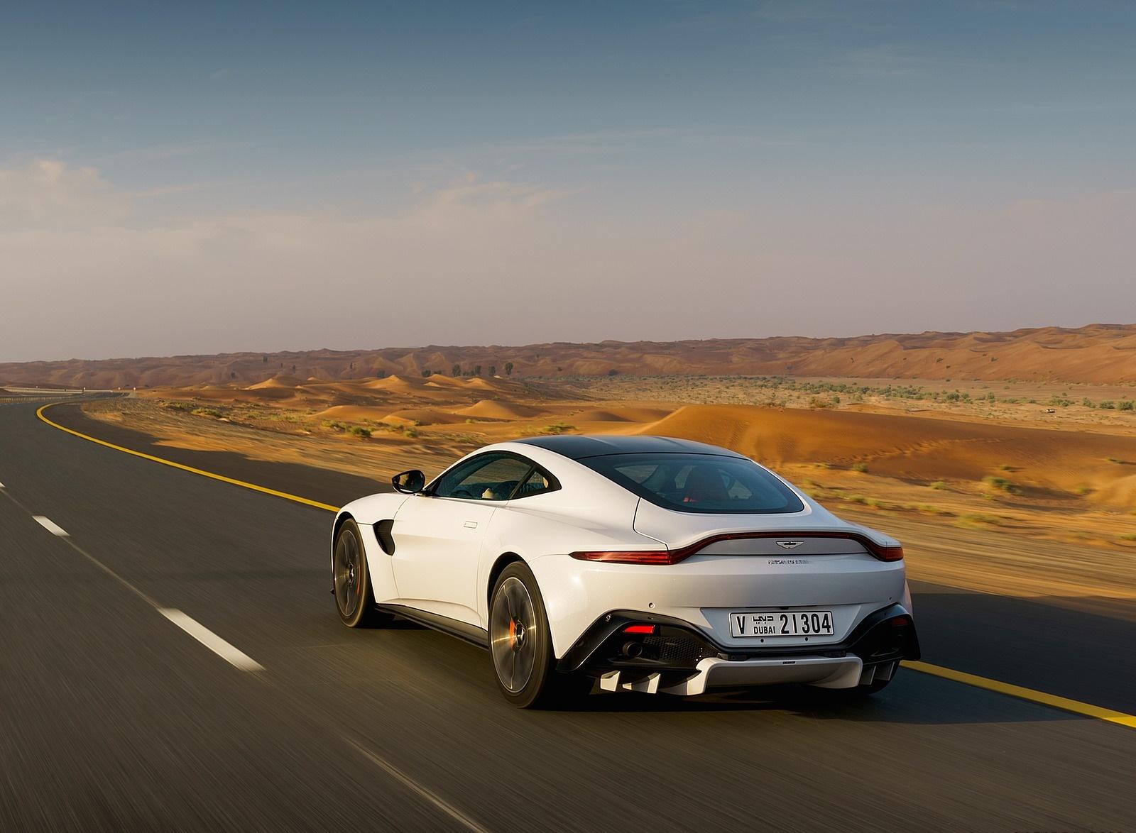 2019 Aston Martin Vantage Color White Stone Rear Three Quarter Wallpapers 79 Newcarcars