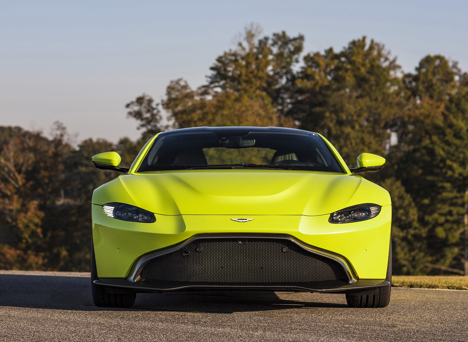 2019 Aston Martin Vantage Front Wallpapers (13)