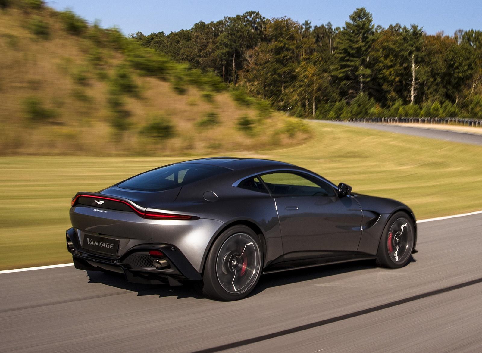2019 Aston Martin Vantage Rear Three Quarter Wallpapers 31 Newcarcars