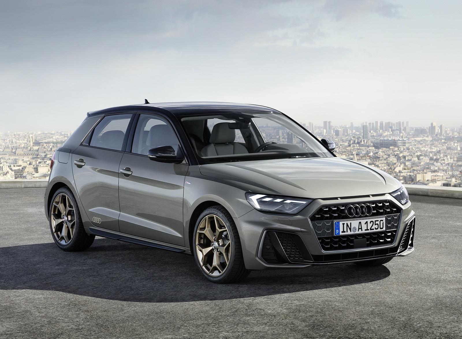 2019 Audi A1 Sportback (Color: Chronos Grey) Front Three-Quarter Wallpapers (1)