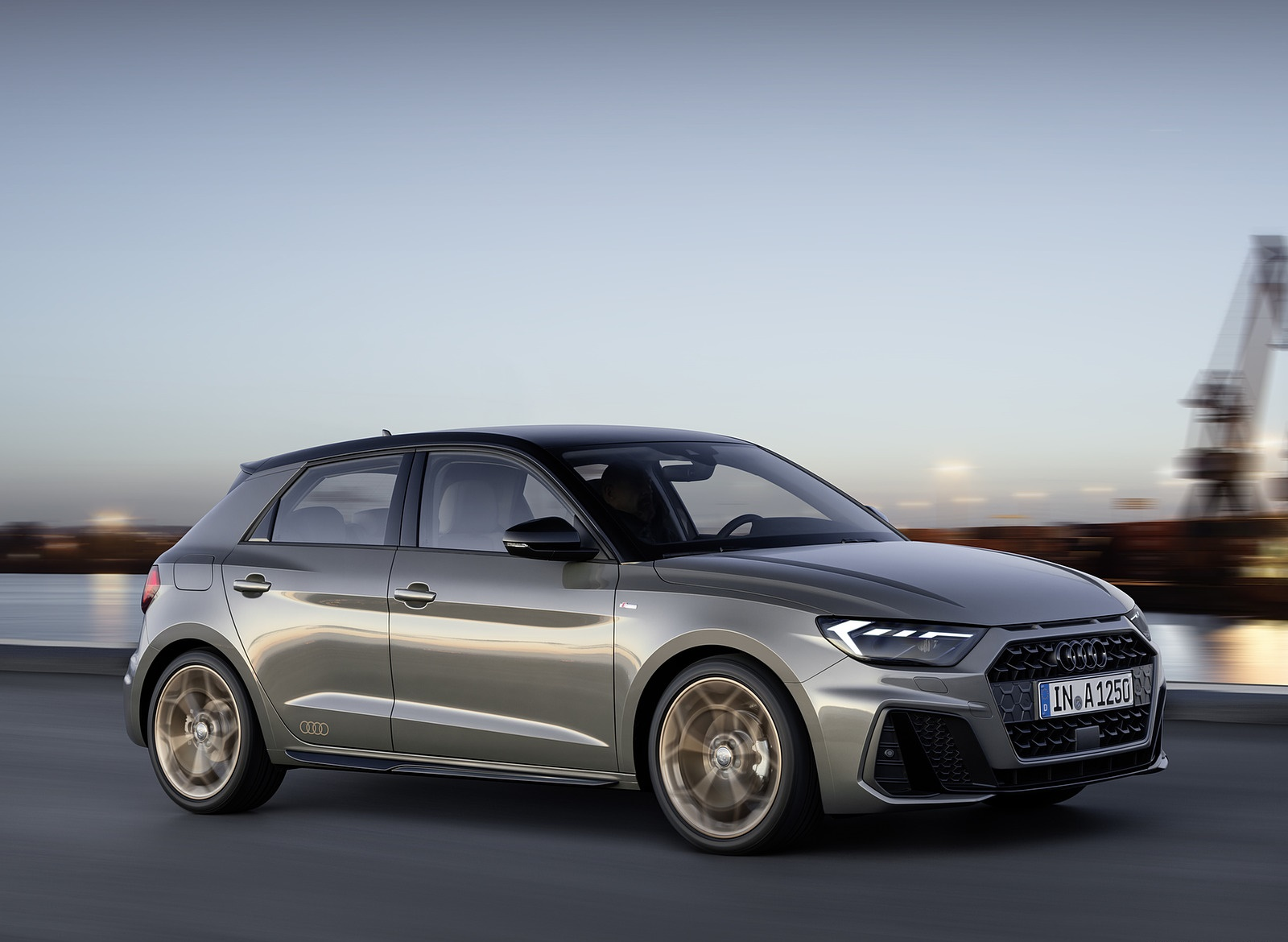 2019 Audi A1 Sportback (Color: Chronos Grey) Front Three-Quarter Wallpapers (5)
