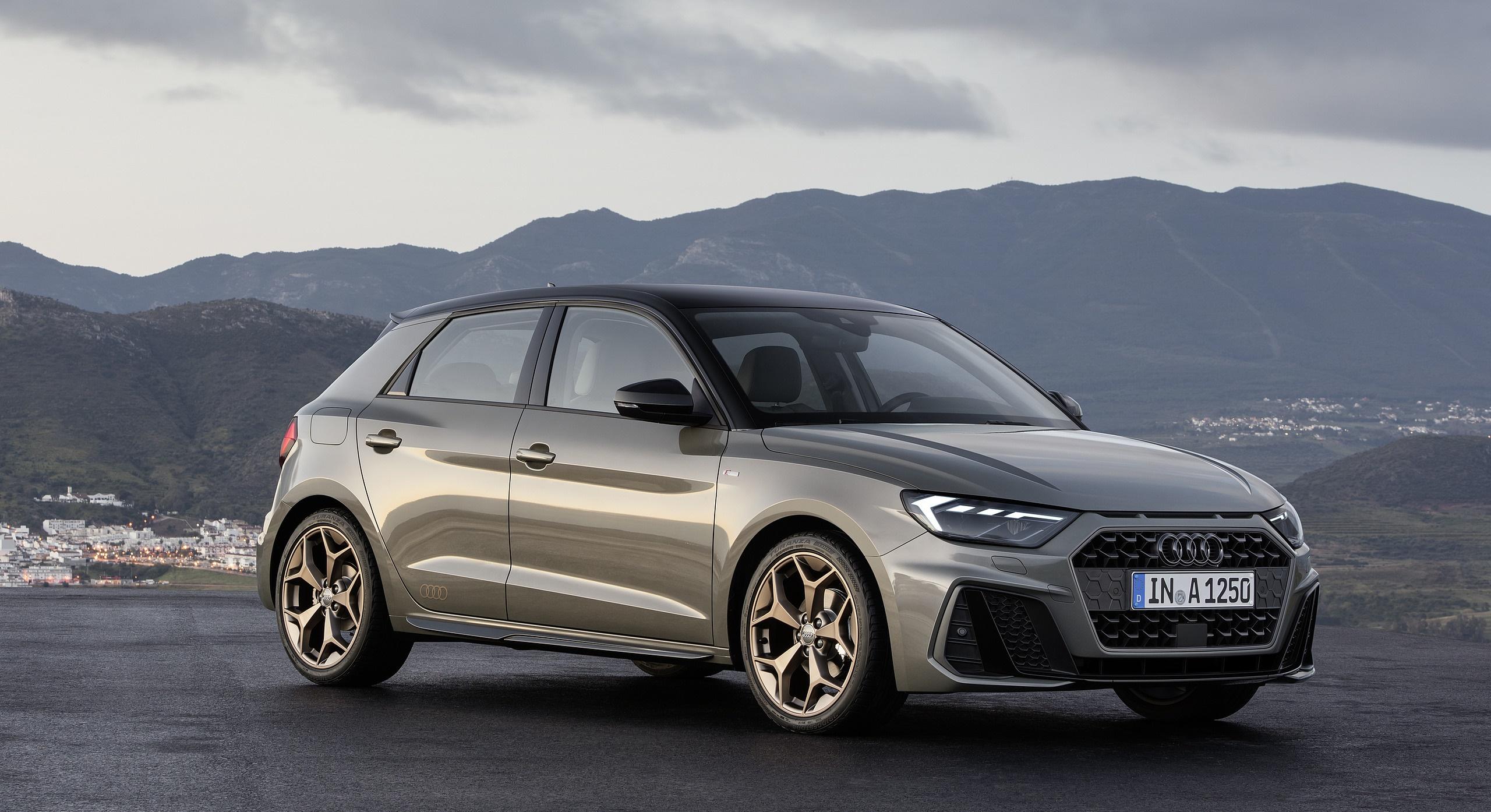 2019 Audi A1 Sportback (Color: Chronos Grey) Front Three-Quarter Wallpapers (3)
