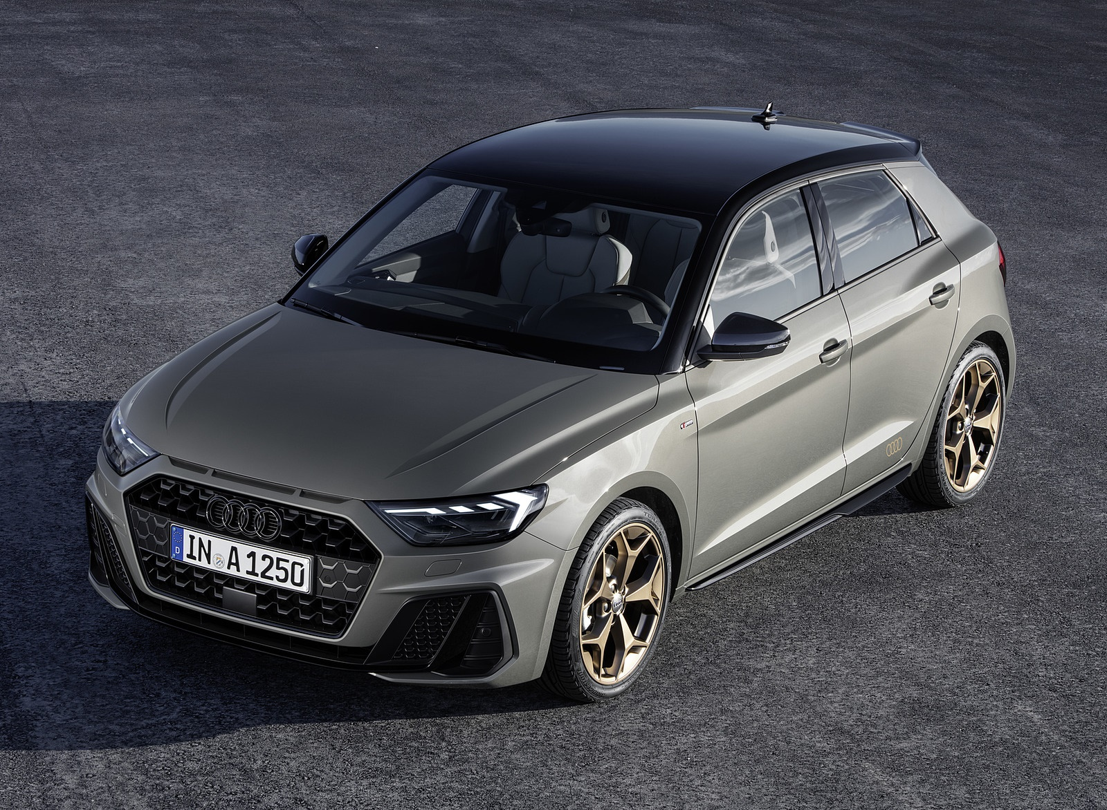 2019 Audi A1 Sportback Color Chronos Grey Front Three Quarter Wallpapers 4 Newcarcars