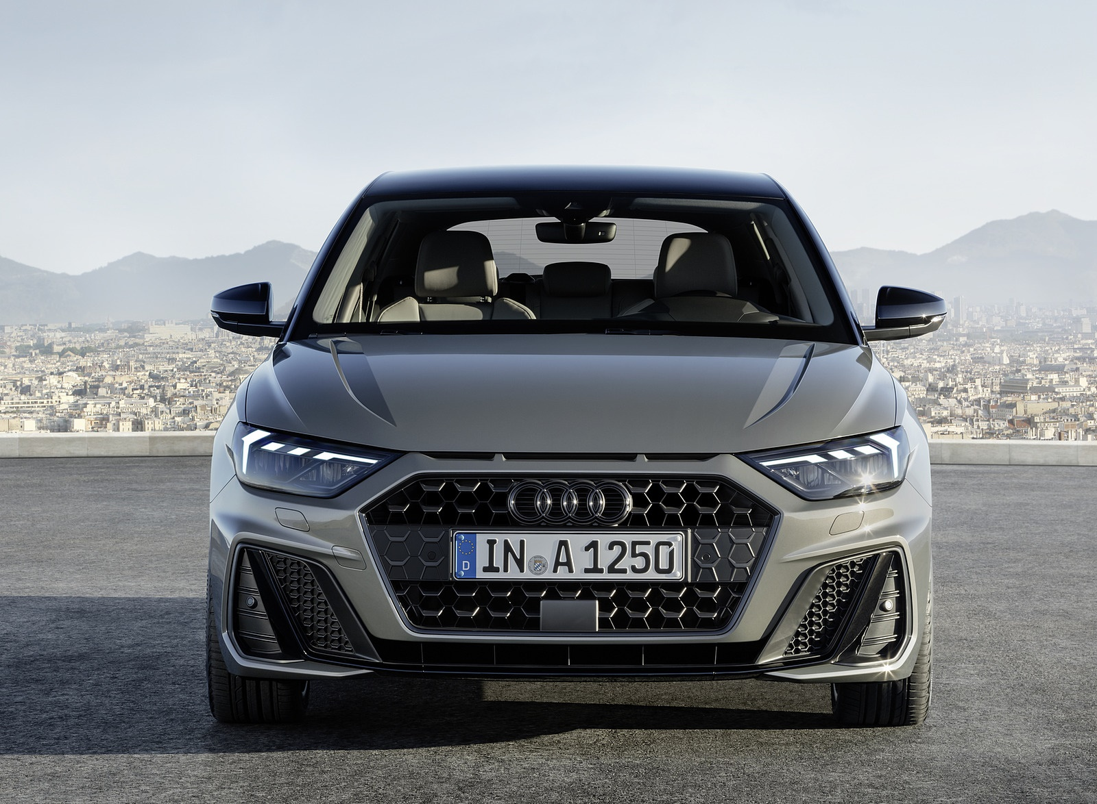 2019 Audi A1 Sportback (Color: Chronos Grey) Front Wallpapers (2)