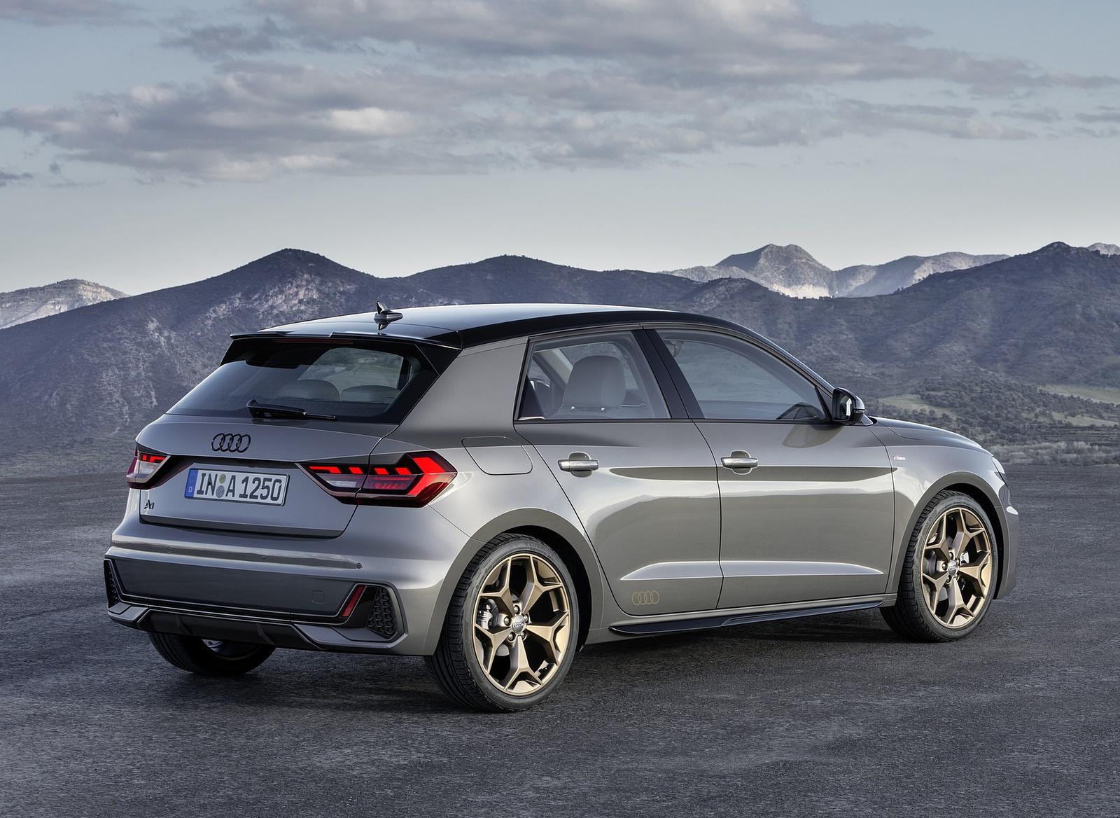 2019 Audi A1 Sportback (Color: Chronos Grey) Rear Three-Quarter Wallpapers (10)