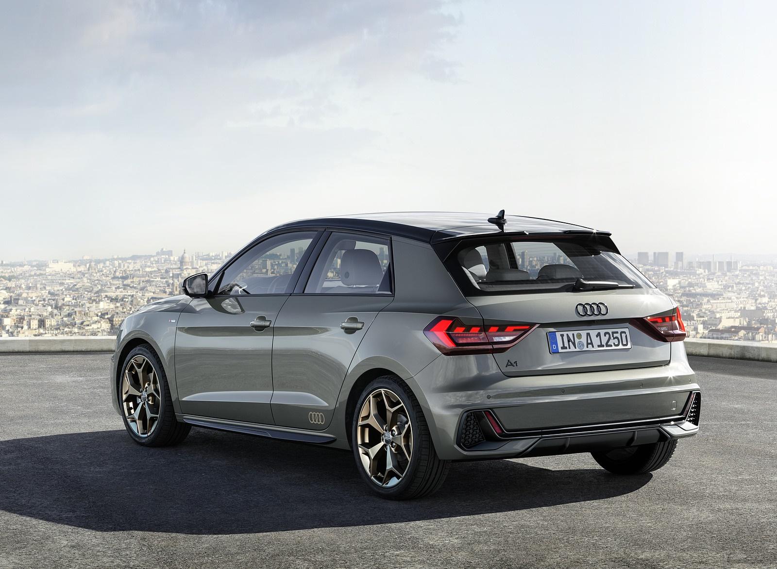 2019 Audi A1 Sportback (Color: Chronos Grey) Rear Three-Quarter Wallpapers (9)