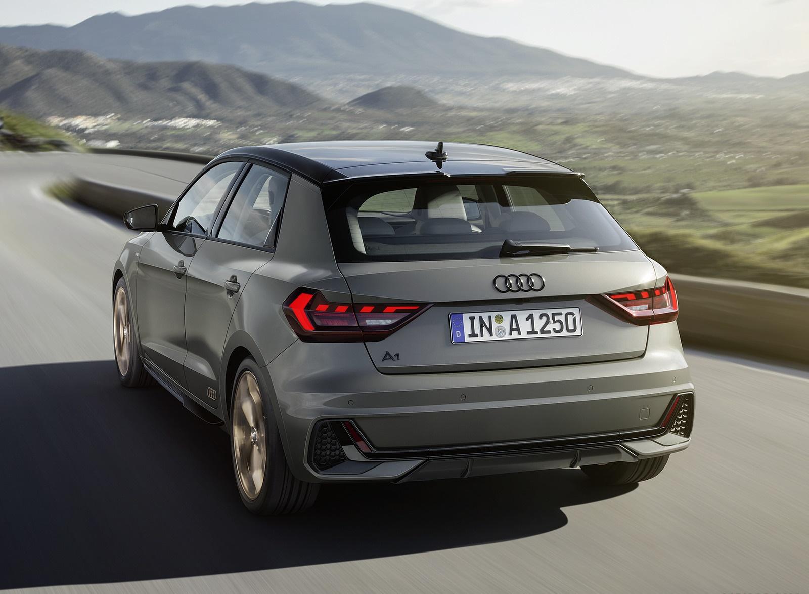 2019 Audi A1 Sportback Color Chronos Grey Rear Wallpapers 8 Newcarcars