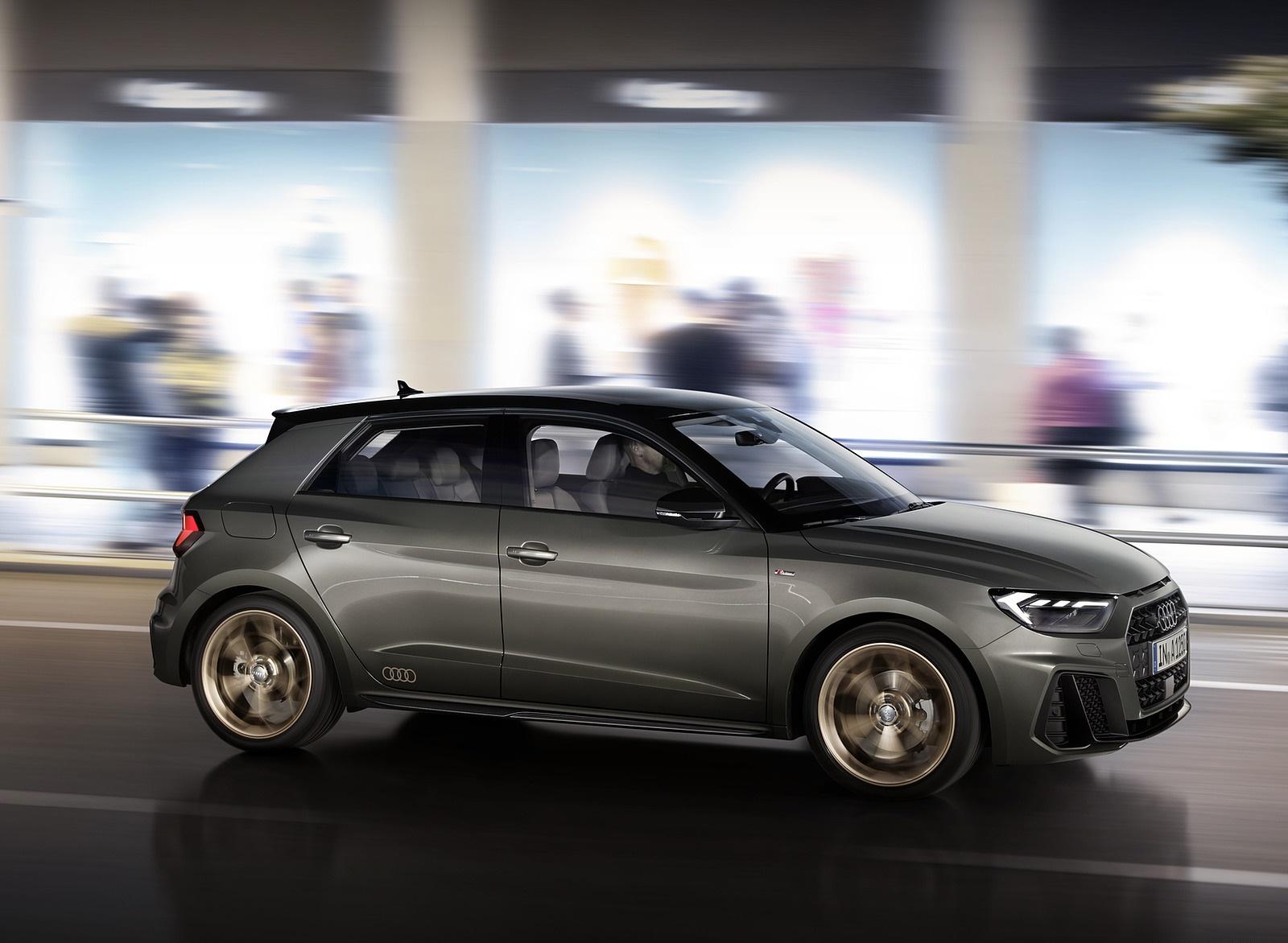 2019 Audi A1 Sportback (Color: Chronos Grey) Side Wallpapers (7)