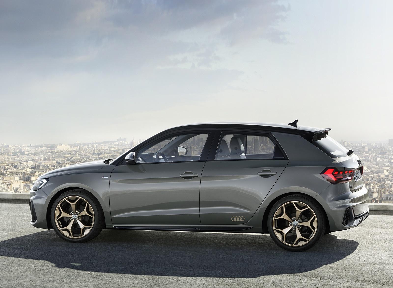 2019 Audi A1 Sportback (Color: Chronos Grey) Side Wallpapers (6)