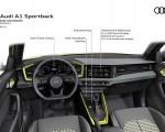 2019 Audi A1 Sportback Dashboard Wallpapers 150x120 (30)