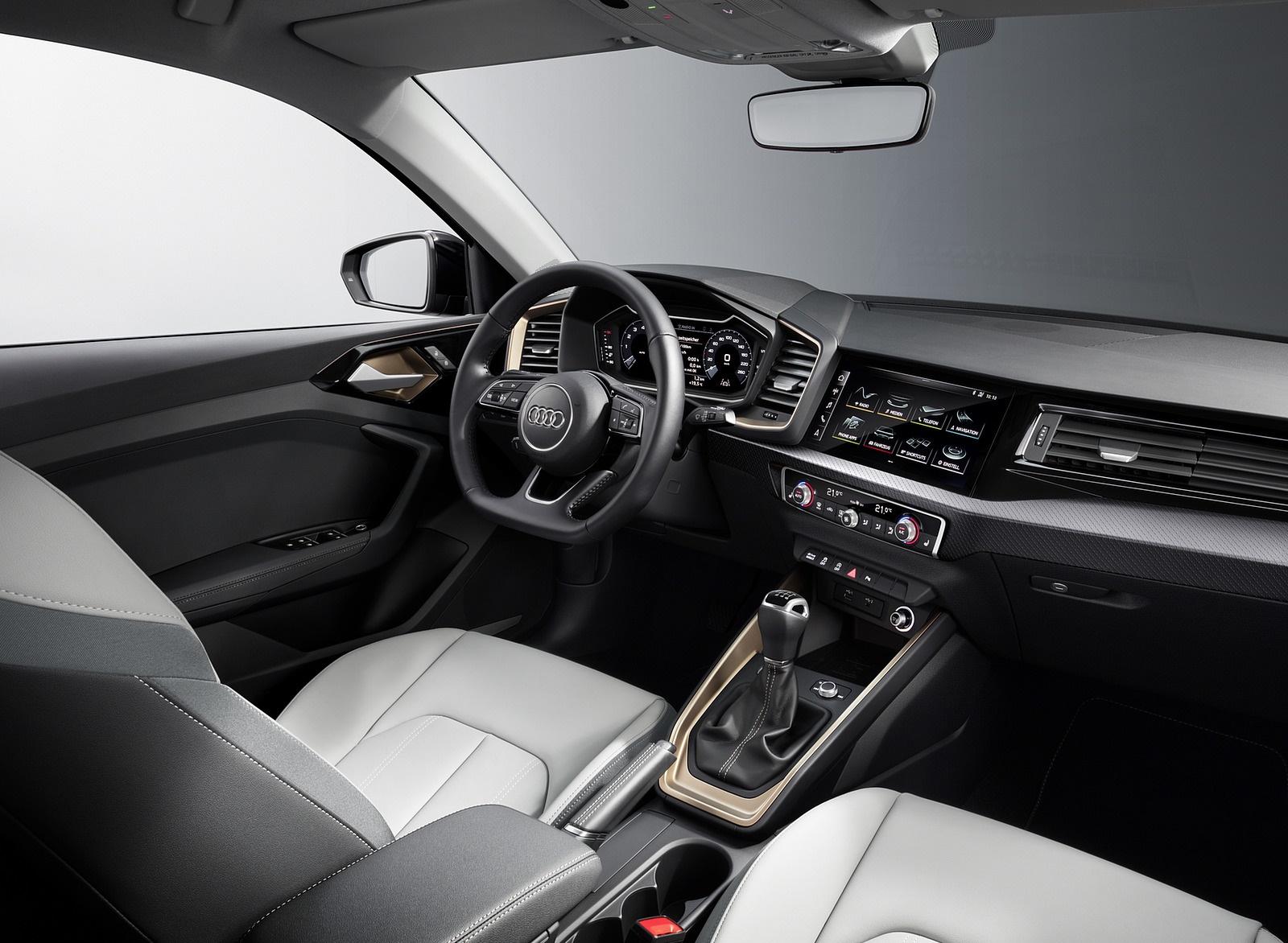 2019 Audi A1 Sportback Interior Wallpapers (12)