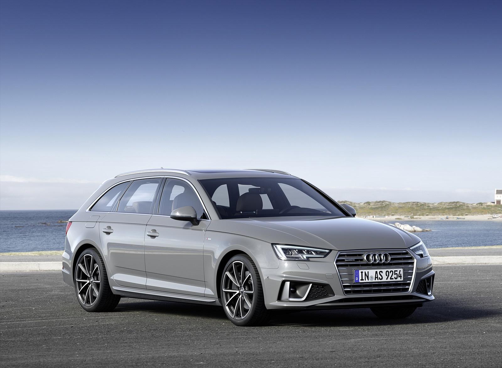2019 Audi A4 Avant (Color: Quantum Gray) Front Three-Quarter Wallpapers (10)