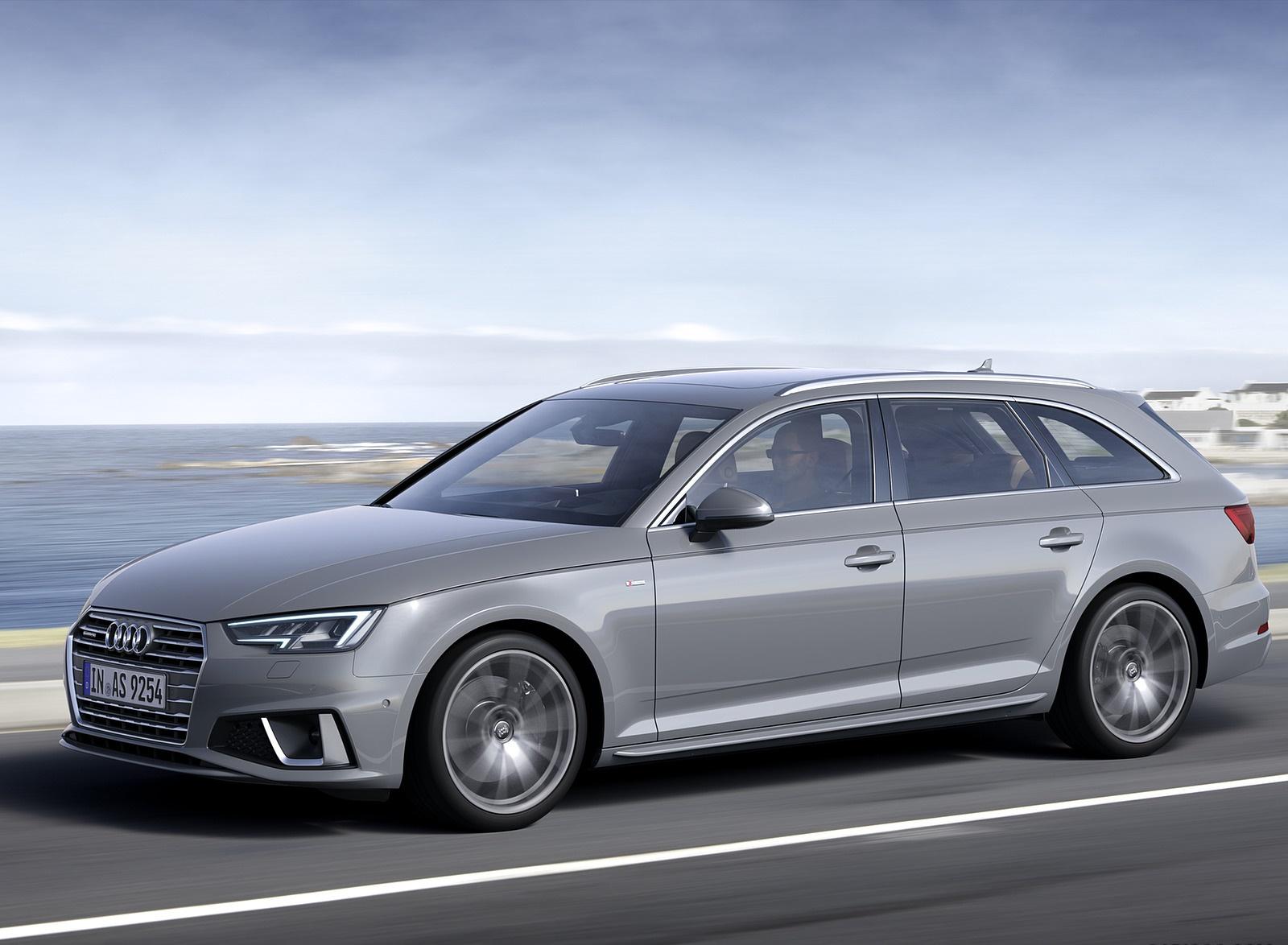 2019 Audi A4 Avant (Color: Quantum Gray) Front Three-Quarter Wallpapers (5)