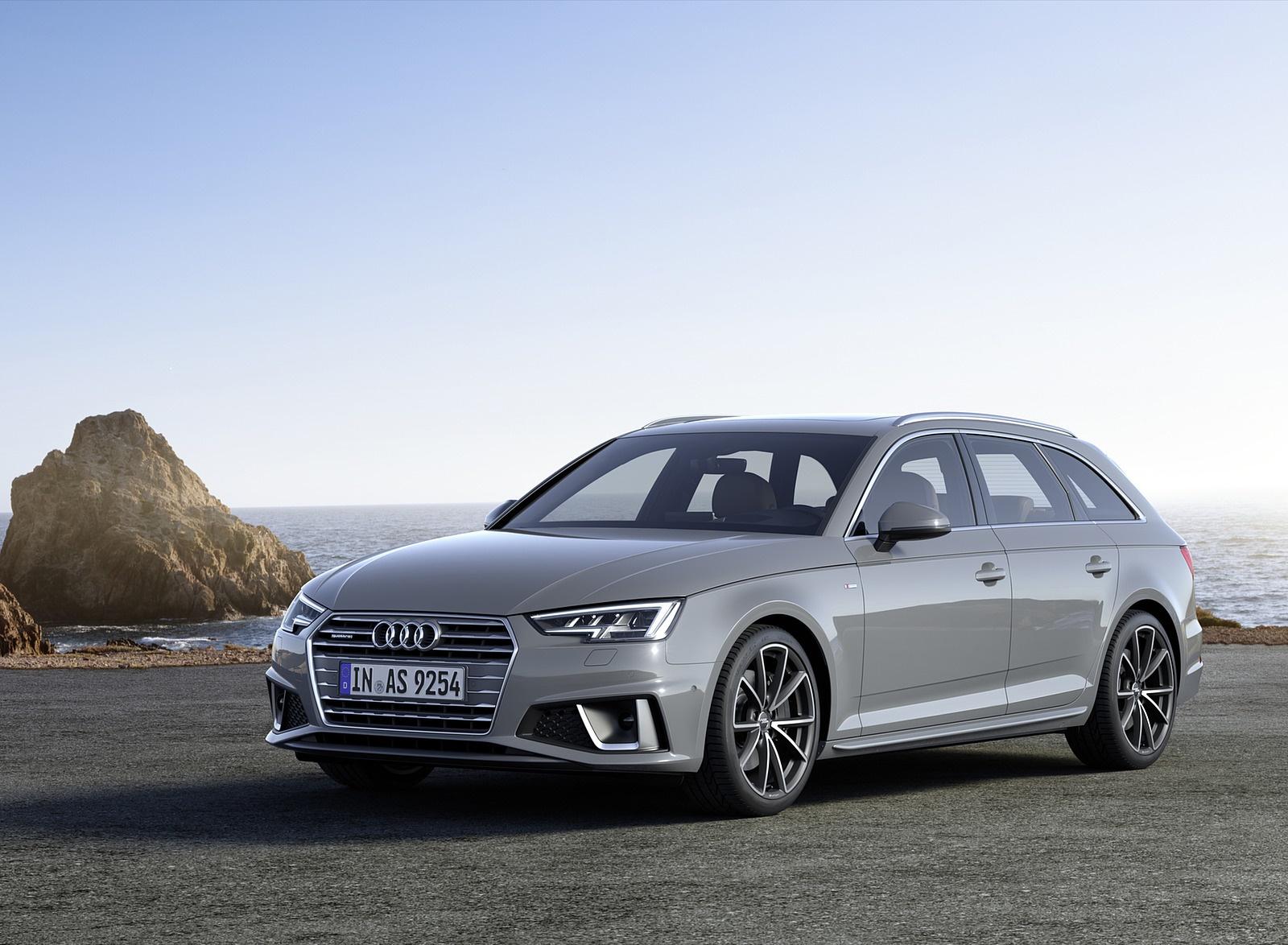 2019 Audi A4 Avant (Color: Quantum Gray) Front Three-Quarter Wallpapers (9)