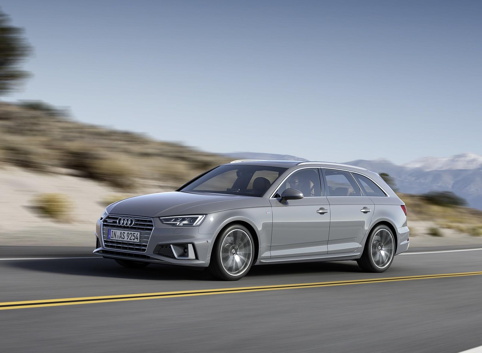 2019 Audi A4 Avant (Color: Quantum Gray) Front Three-Quarter Wallpapers (1)