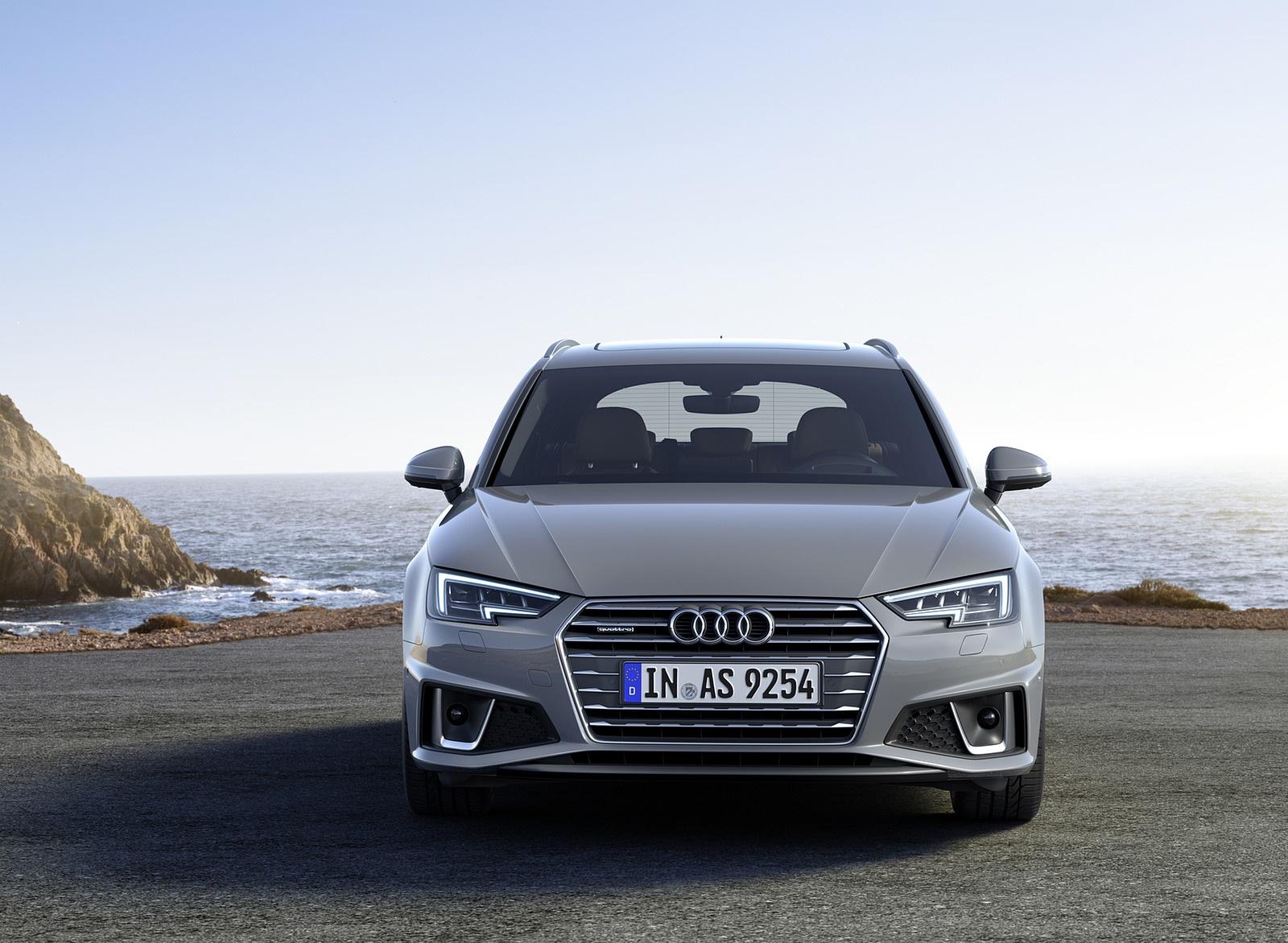 2019 Audi A4 Avant (Color: Quantum Gray) Front Wallpapers (6)