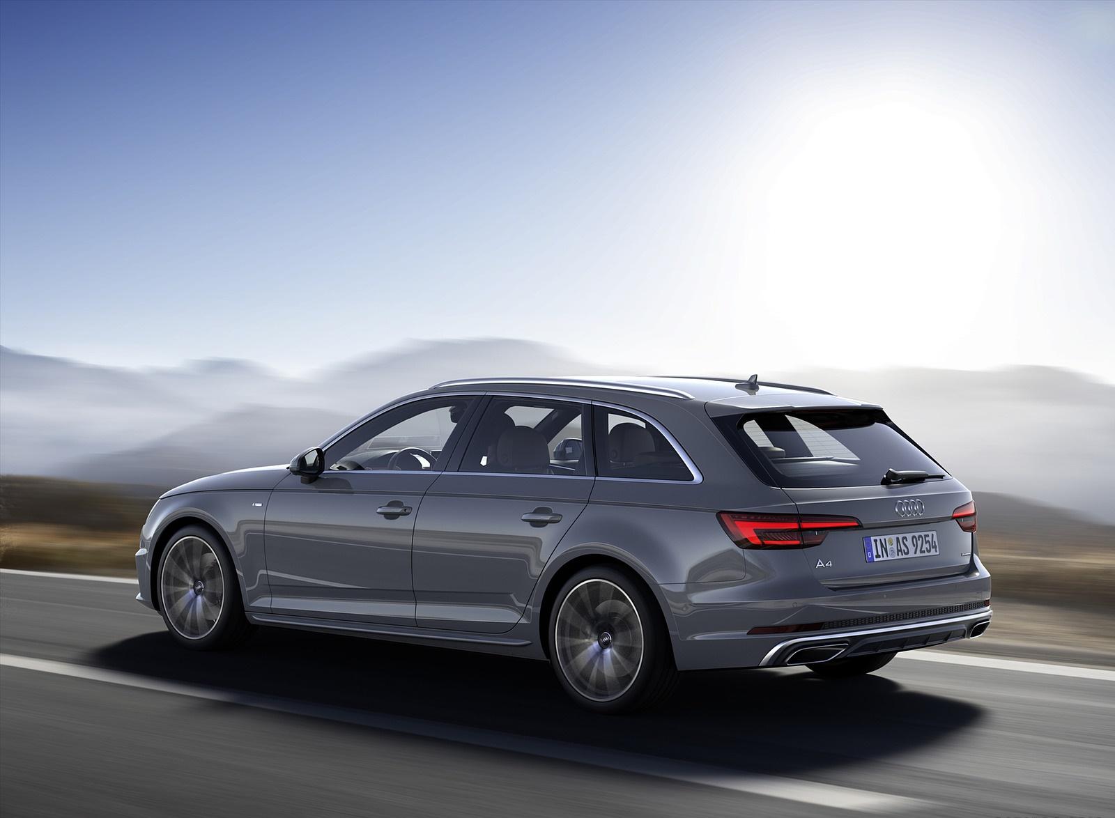 2019 Audi A4 Avant (Color: Quantum Gray) Rear Three-Quarter Wallpapers (3)