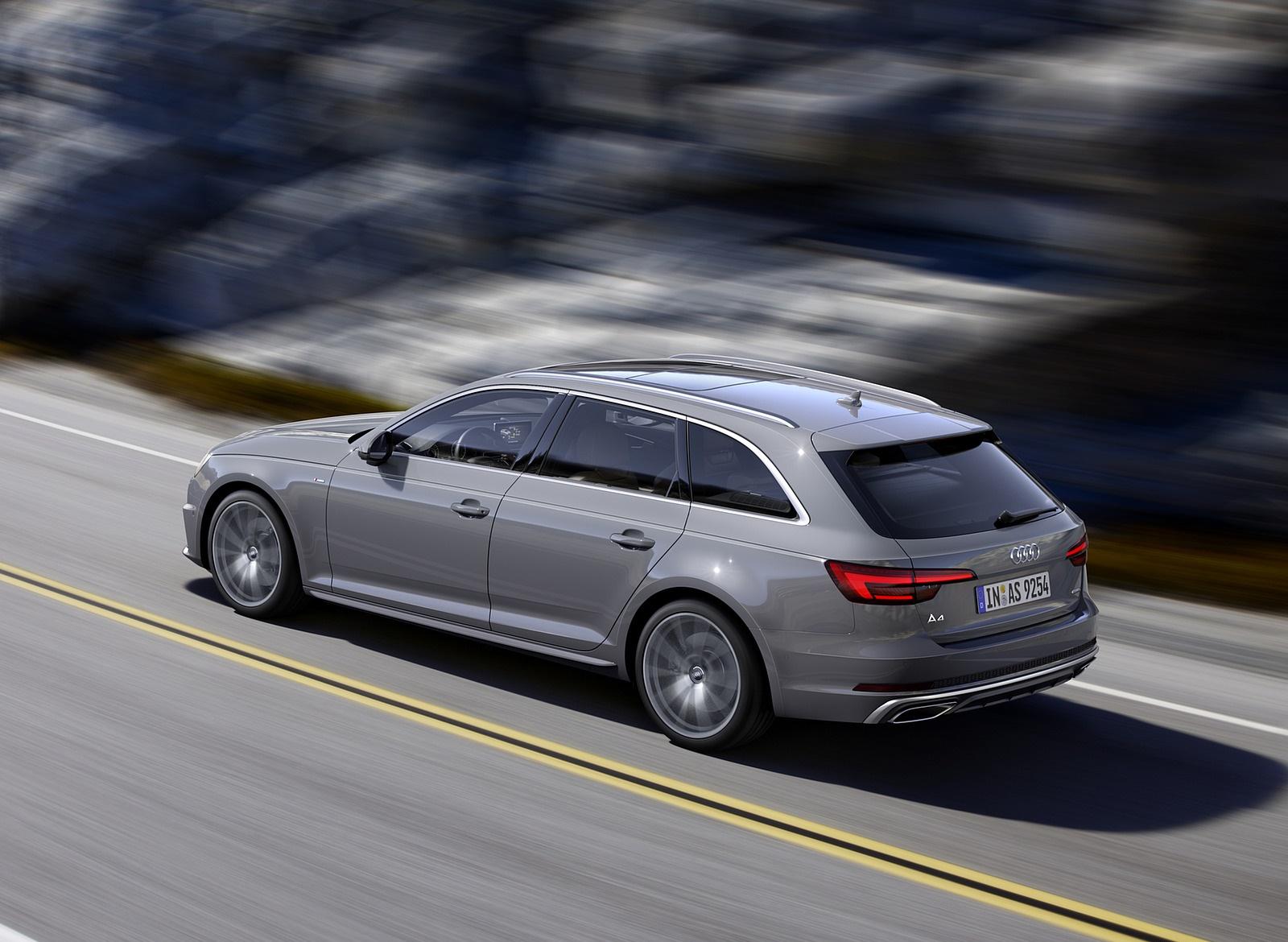 2019 Audi A4 Avant (Color: Quantum Gray) Rear Three-Quarter Wallpapers (2)