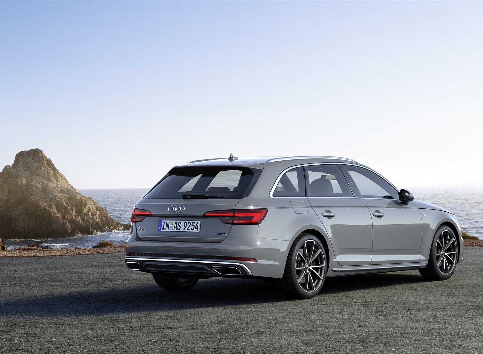 2019 Audi A4 Avant (Color: Quantum Gray) Rear Three-Quarter Wallpapers (7)